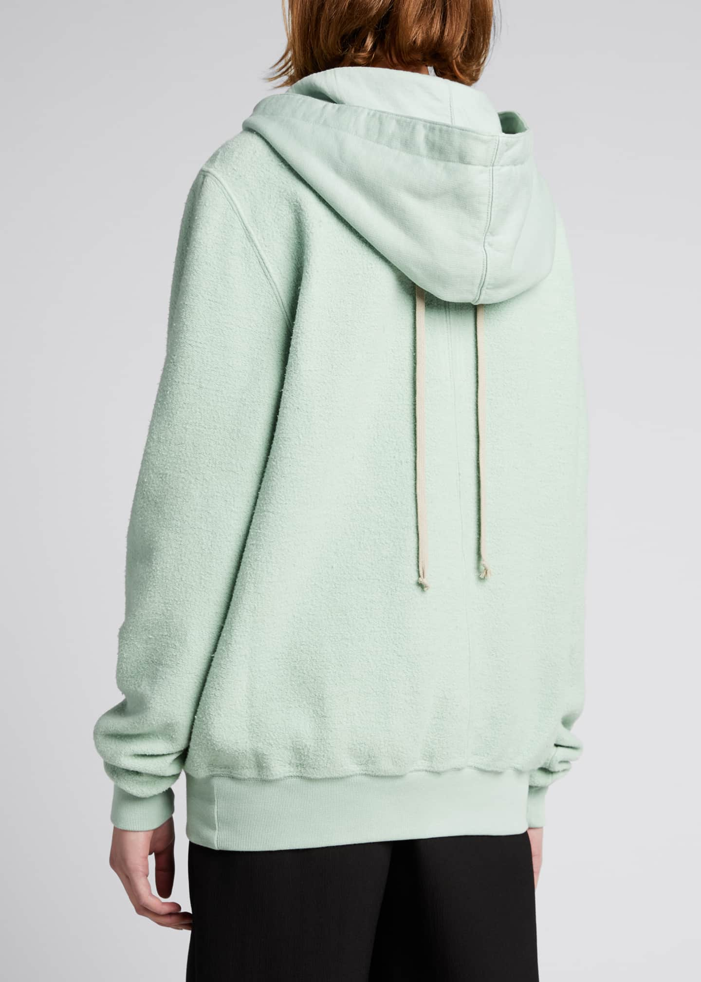 Image 2 of 4: Solid Cotton Hoodie