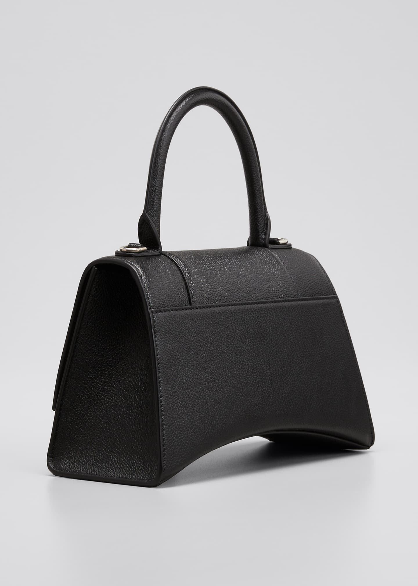 Image 3 of 5: Hourglass Small Calfskin Top-Handle Bag