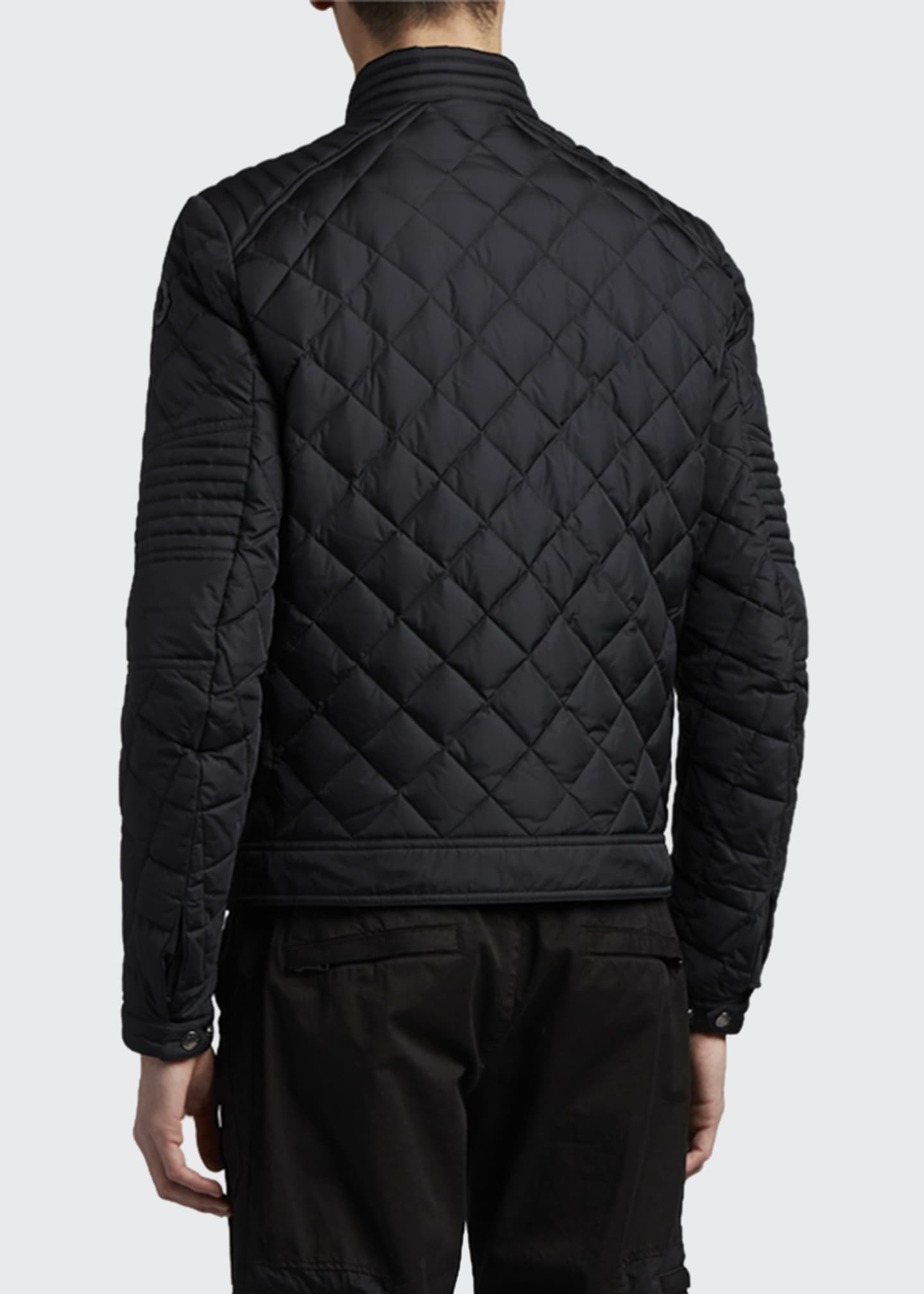 Image 3 of 3: Men's Breitman Quilted Moto Jacket