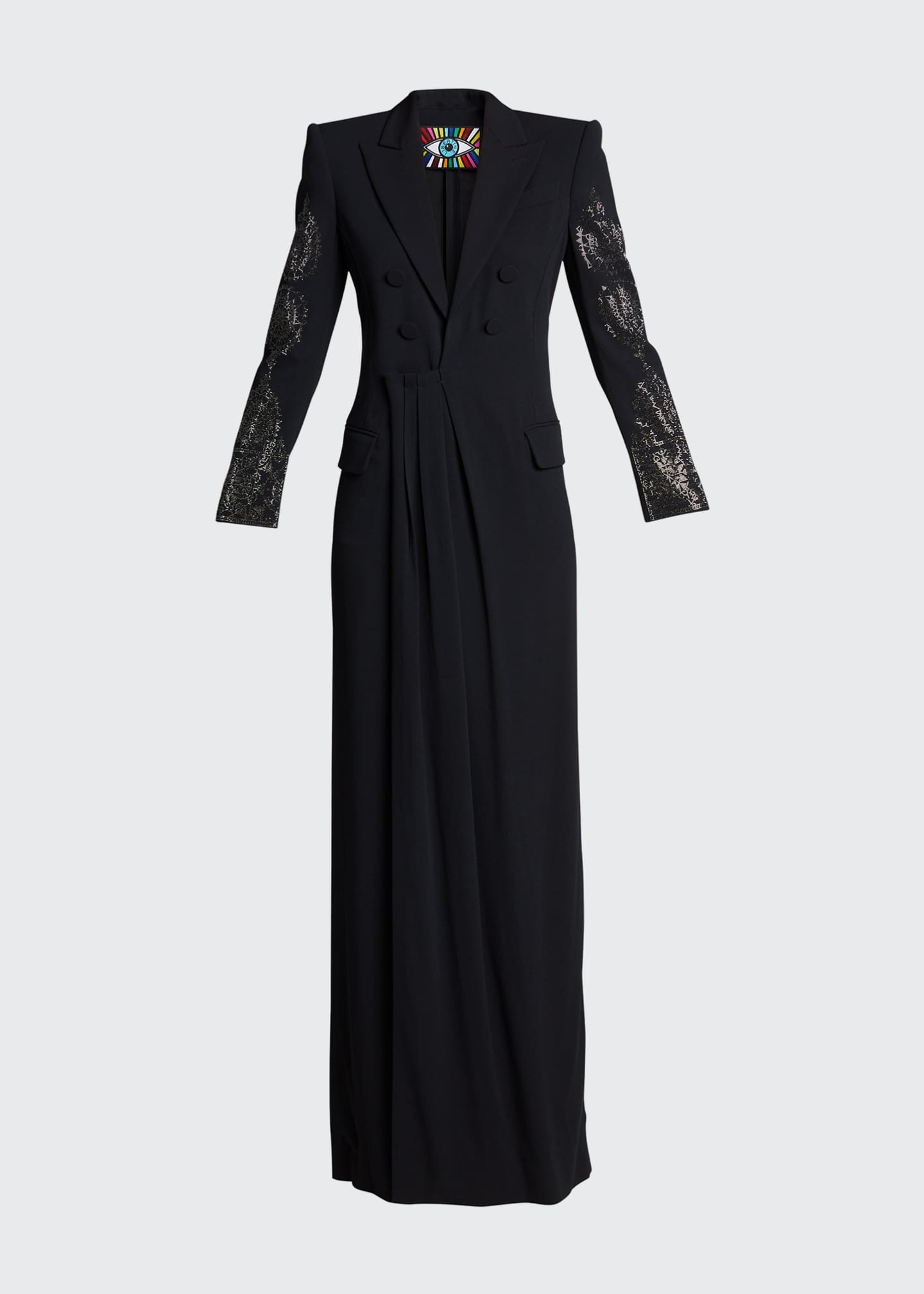 Image 5 of 5: Vintage Gothic Spire Embellished Dress