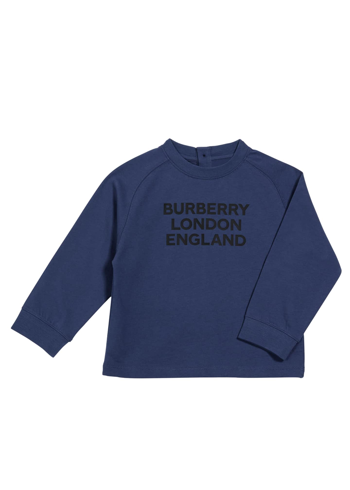Image 1 of 2: Abtot Long-Sleeve Logo Tee, Size 6M-2