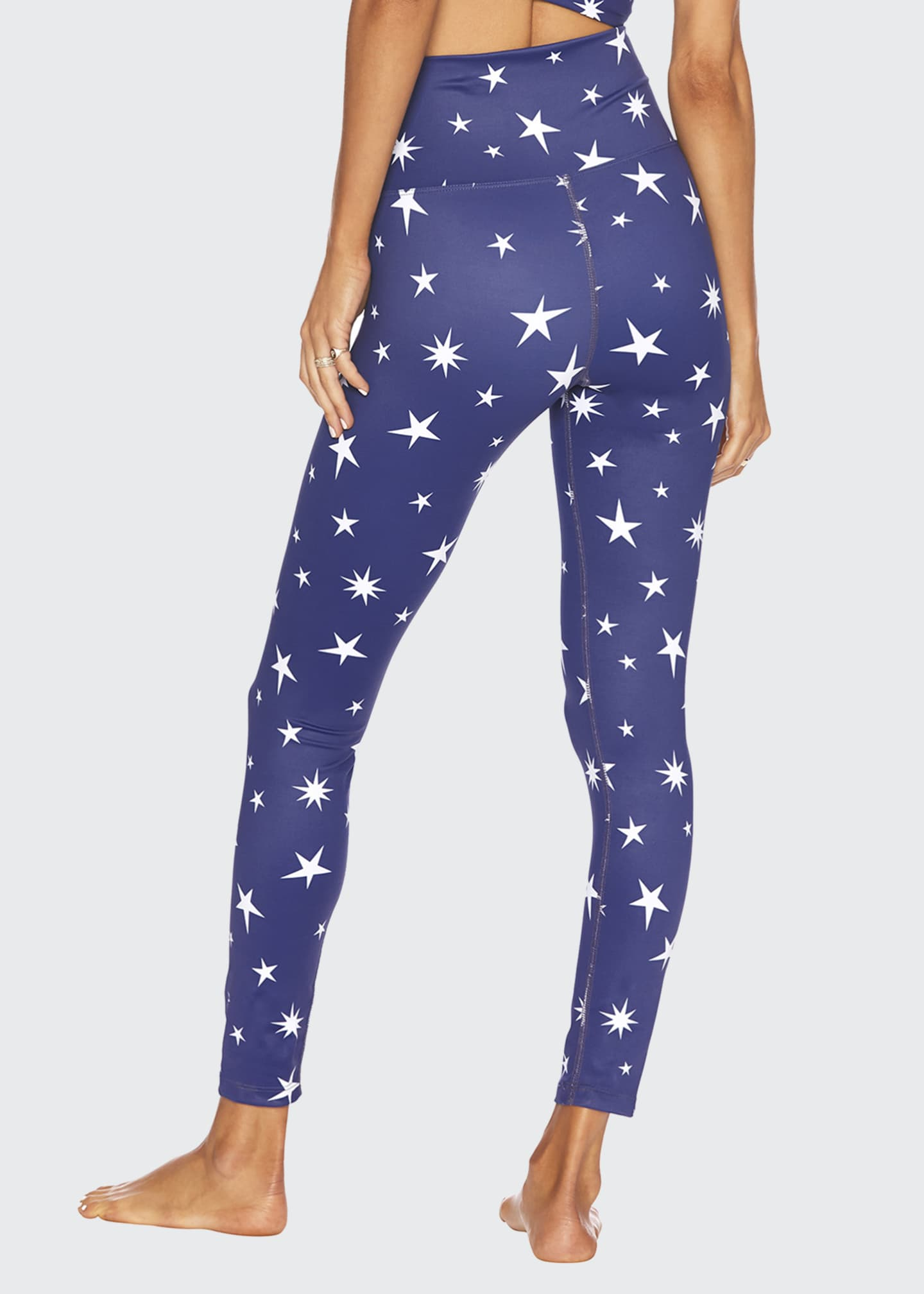 Image 2 of 2: Piper Star-Print Leggings
