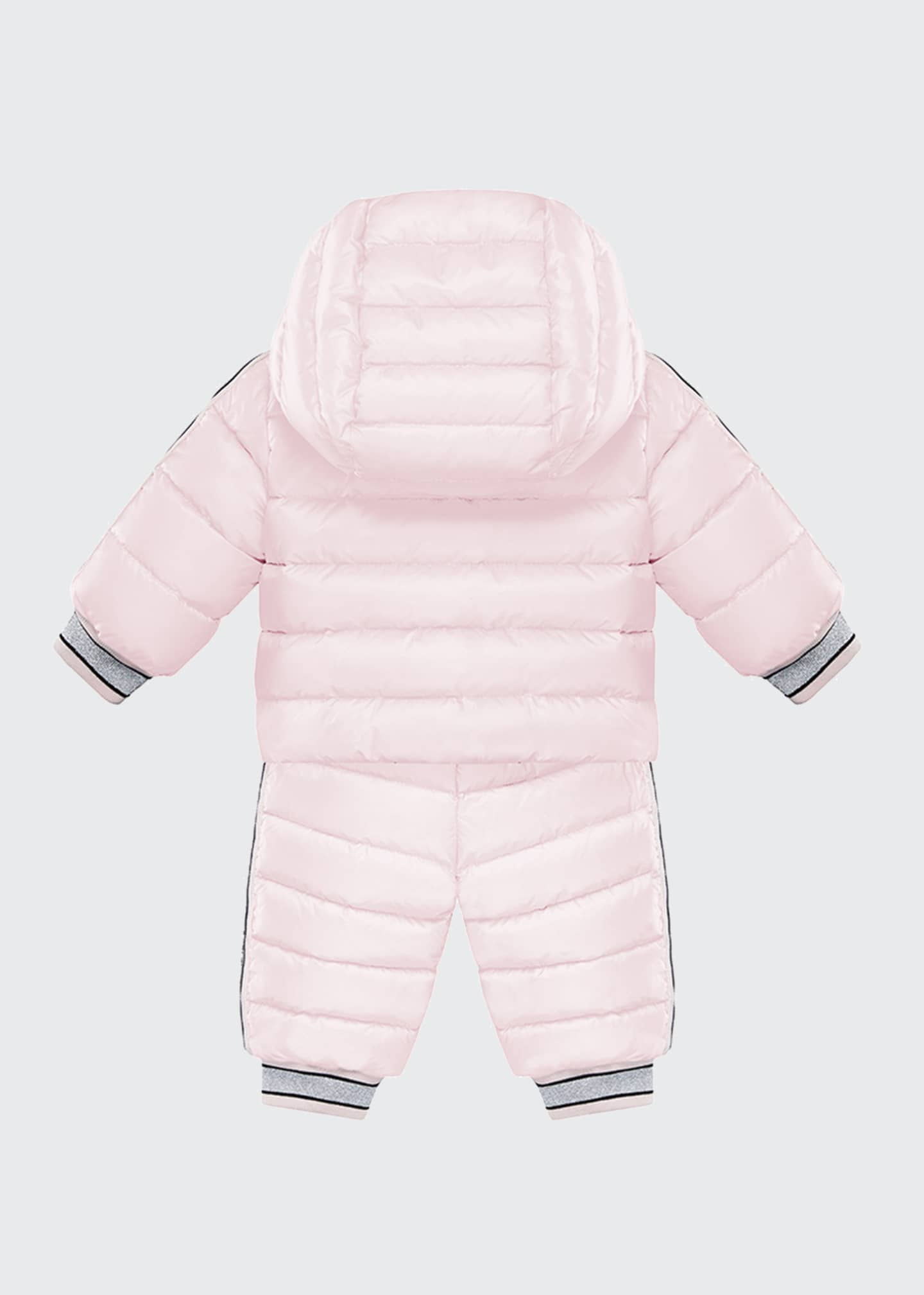 Image 2 of 2: Kanga Quilted Puffer Snowsuit Set, Size 18M-3