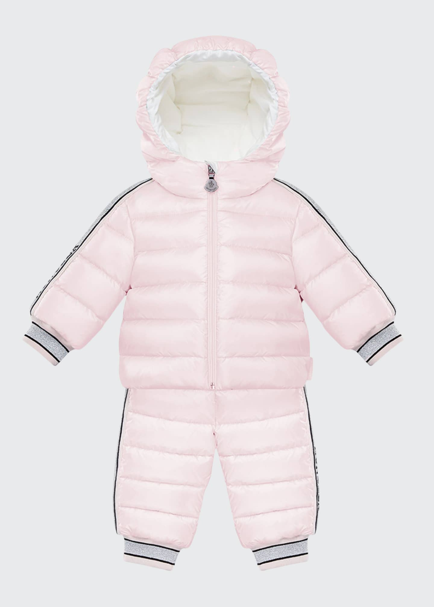 Image 1 of 2: Kanga Quilted Puffer Snowsuit Set, Size 18M-3