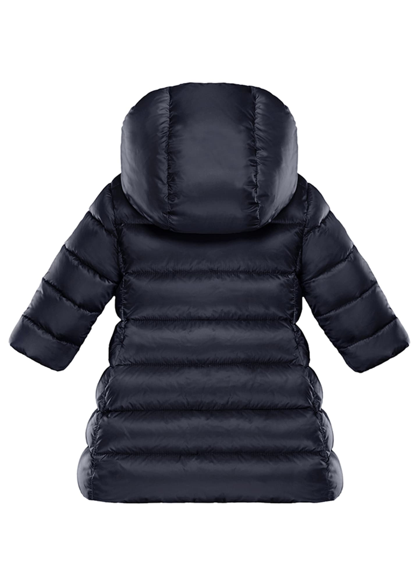 Image 2 of 2: Majeure Quilted Puffer Hooded Long Coat, Size 12M-3
