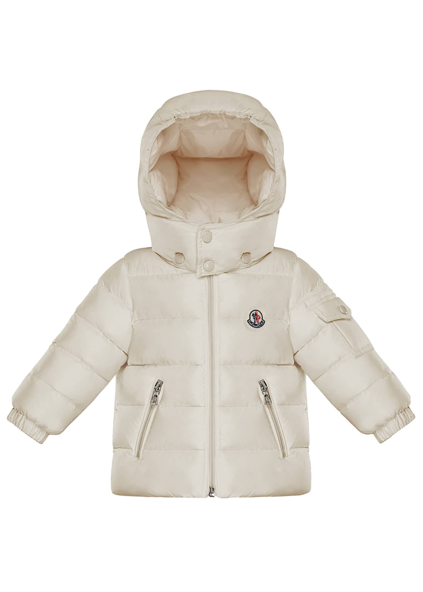Image 1 of 2: Jules Quilted Hooded Jacket, Size 12M-3