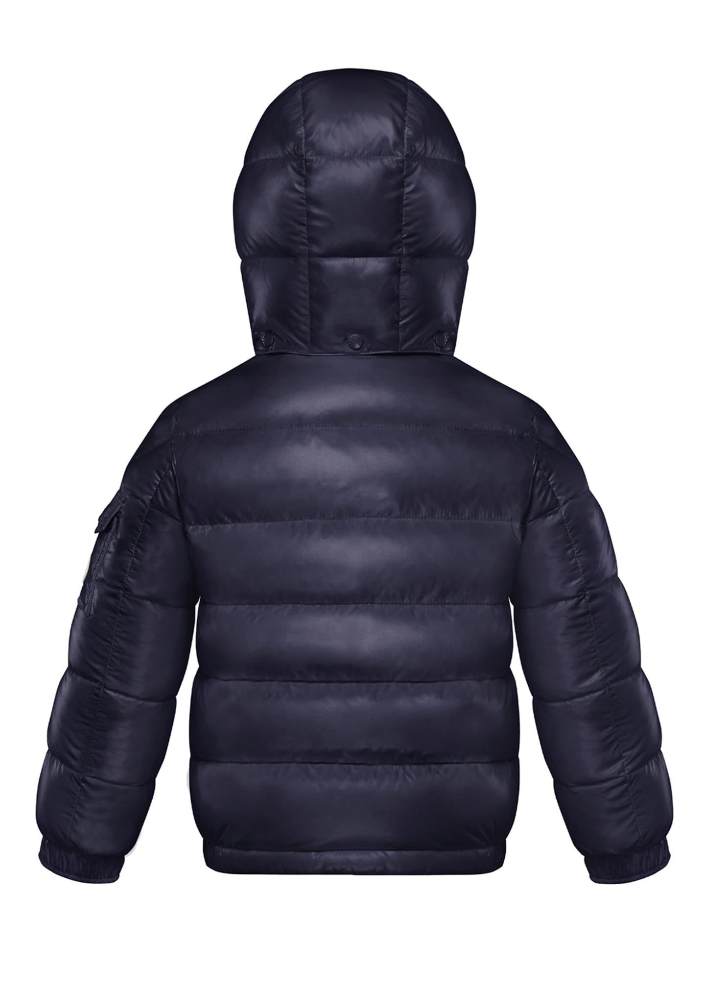 Image 2 of 2: Boy's Dell Quilted Logo-Strip Puffer Jacket, Size 8-14