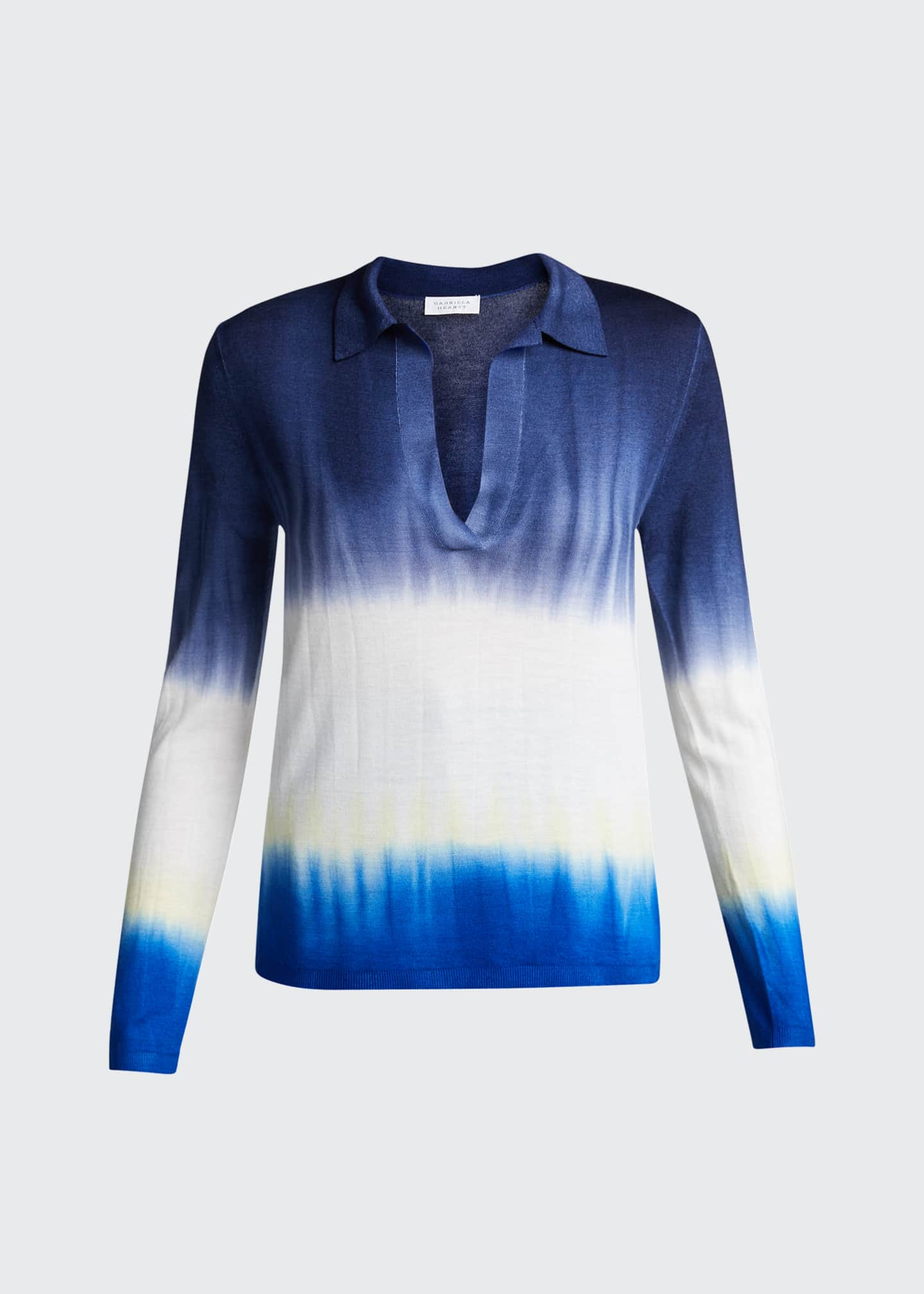 Image 5 of 5: Elaine Tie-Dye Cashmere Sweater