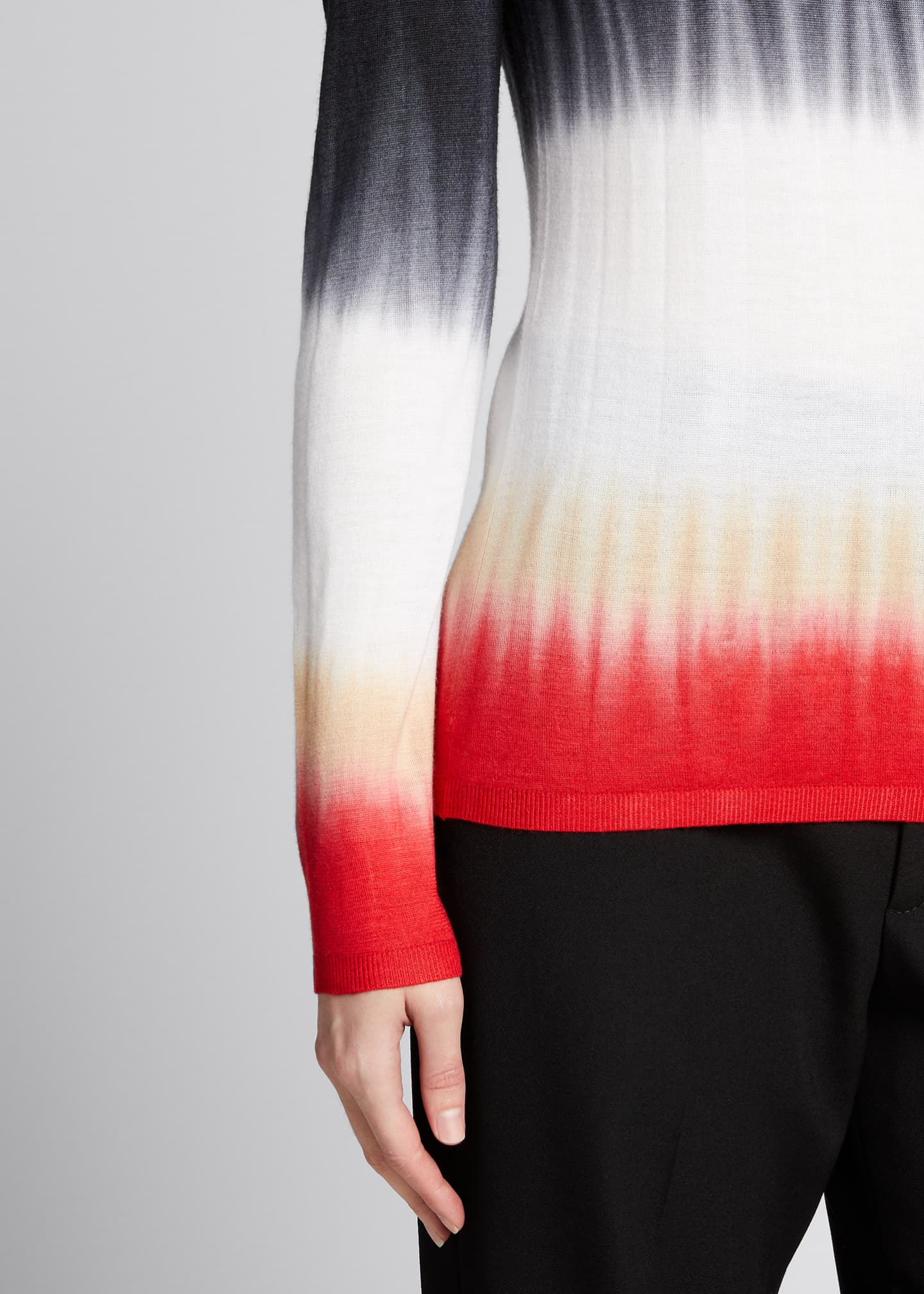 Image 4 of 5: Miller Tie-Dye Cashmere Sweater