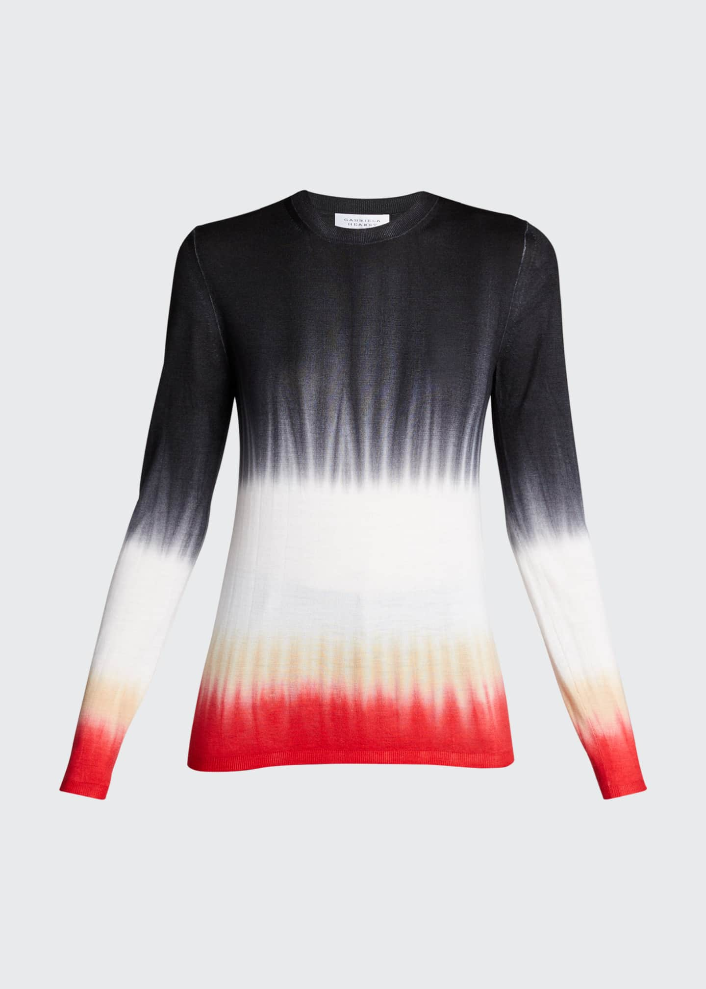 Image 5 of 5: Miller Tie-Dye Cashmere Sweater