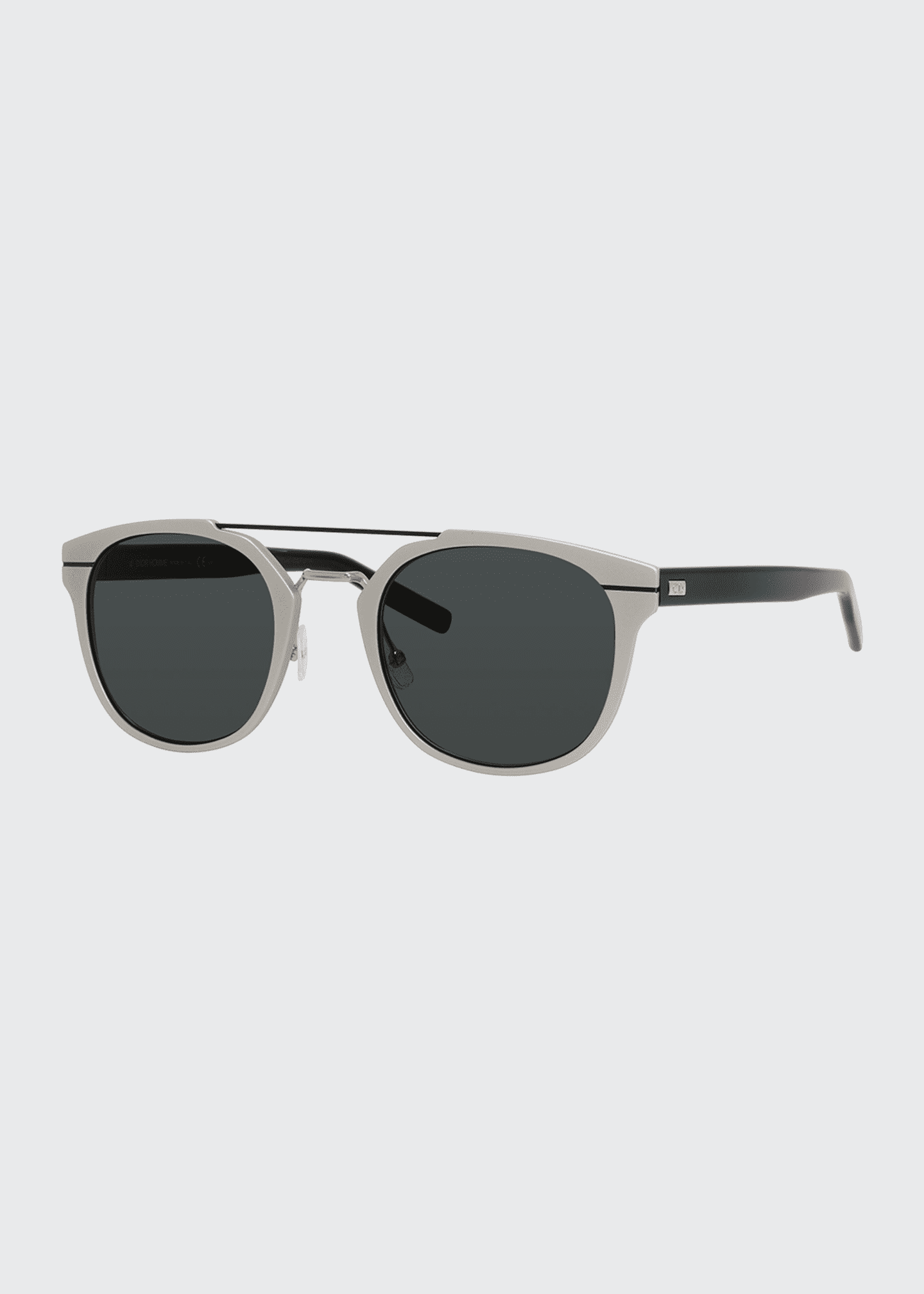 Image 1 of 1: AL13.5 Acetate & Metal Sunglasses