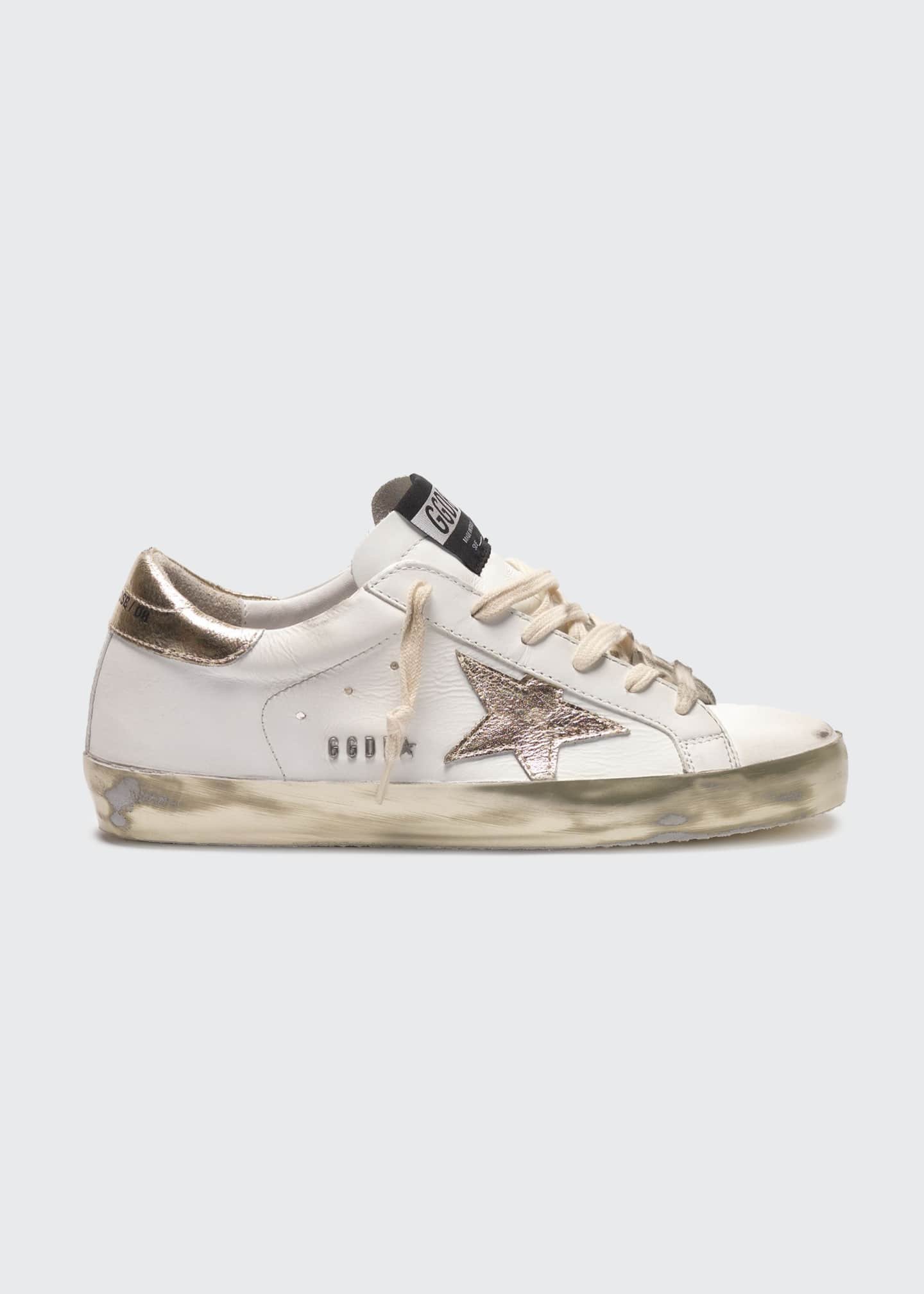 Image 1 of 1: Superstar Metallic-Sole Skater Sneakers