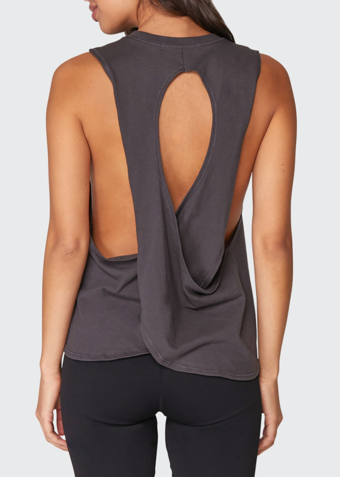 Image 2 of 3: Logo Surplice Back Swing Tank
