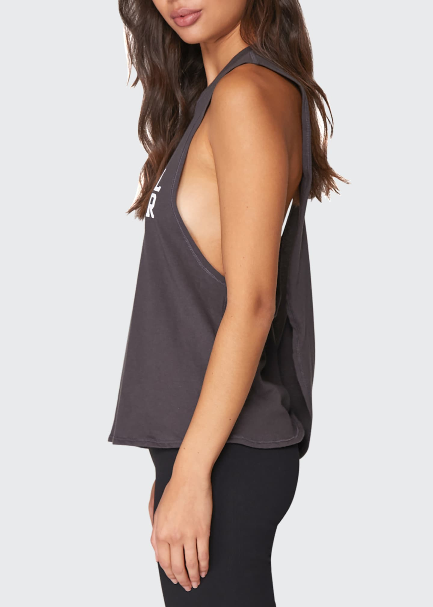 Image 3 of 3: Logo Surplice Back Swing Tank