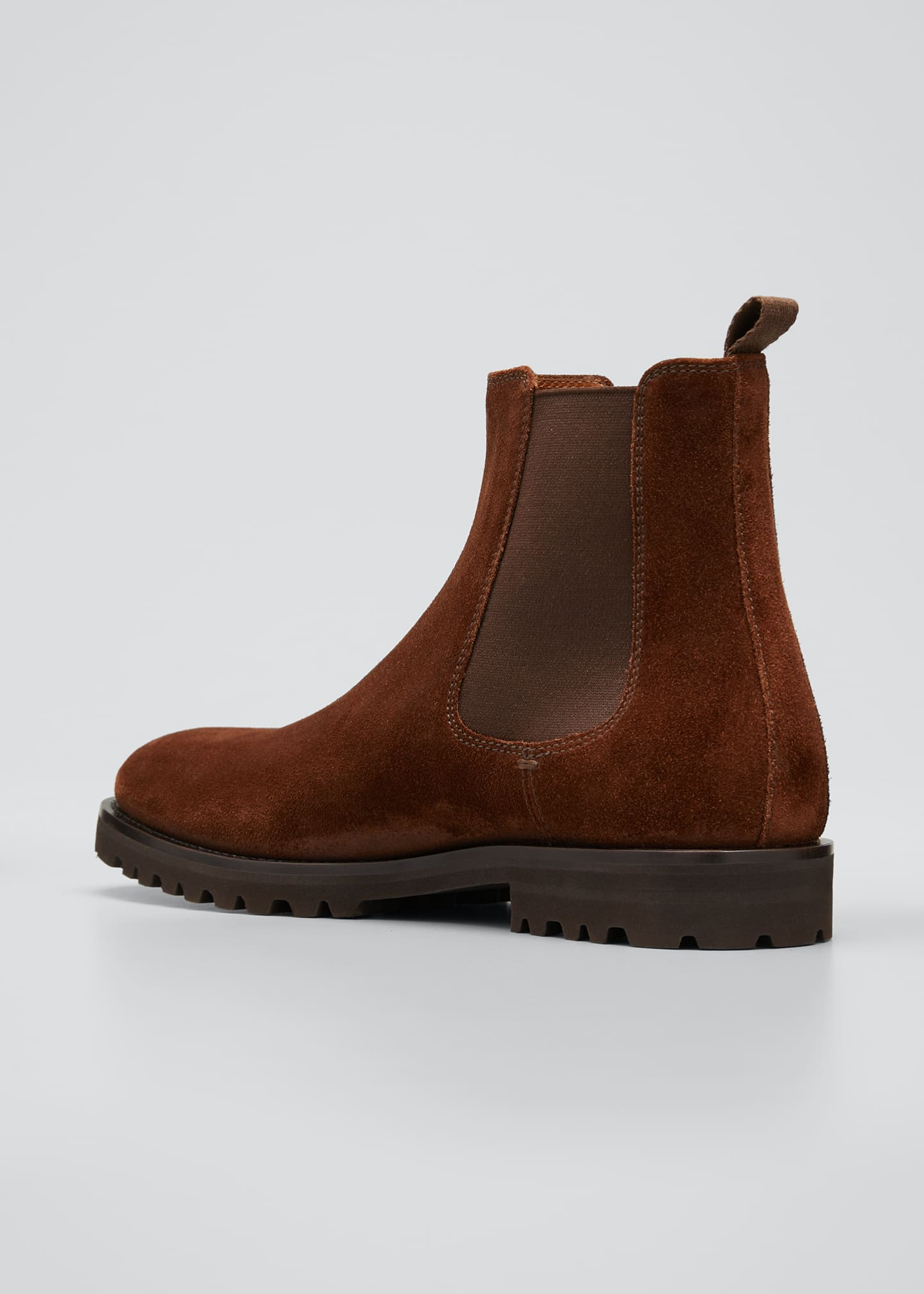 Image 2 of 3: Men's Suede Chelsea Boots