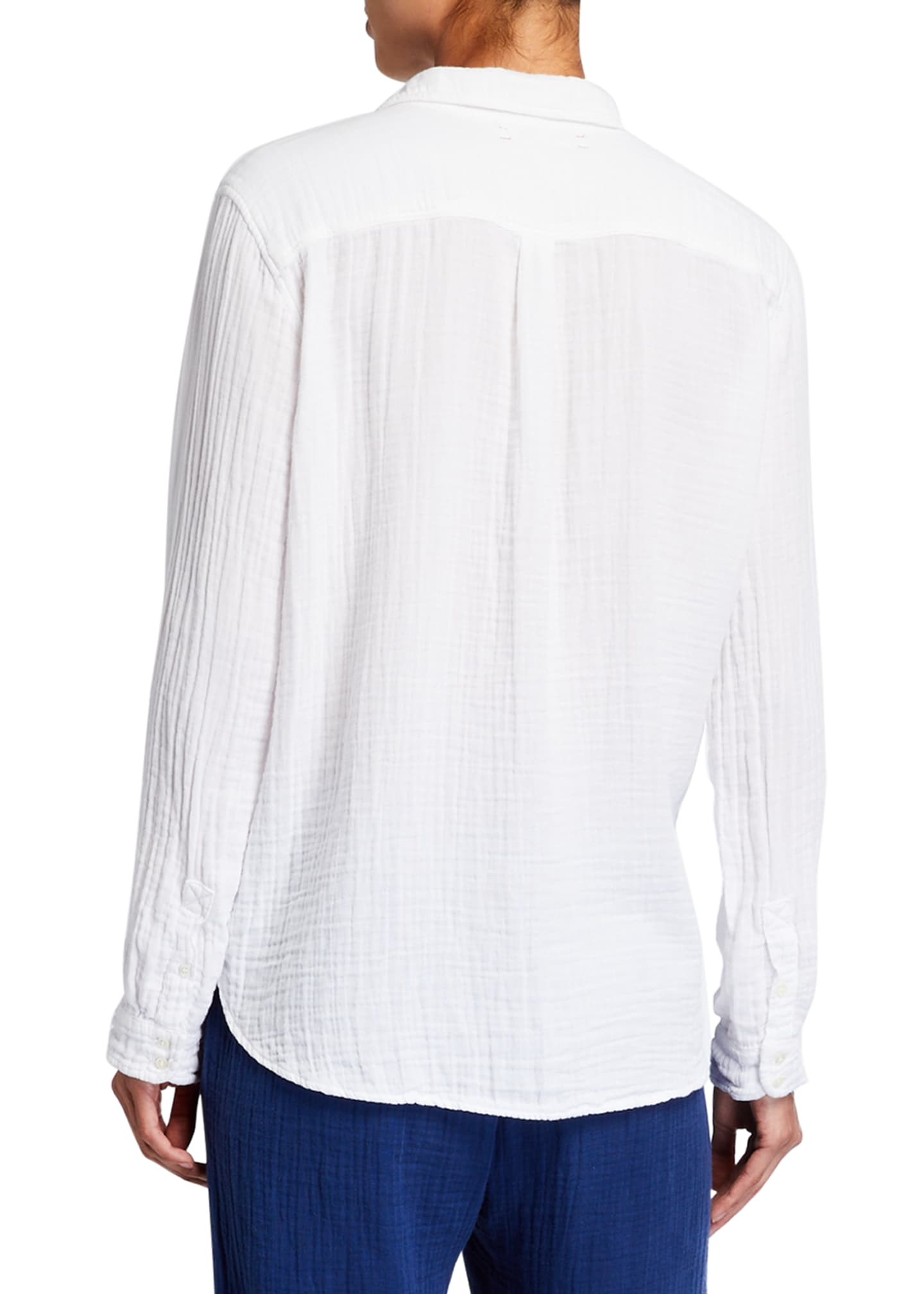 Image 2 of 2: Scout Gauze Button-Down Shirt