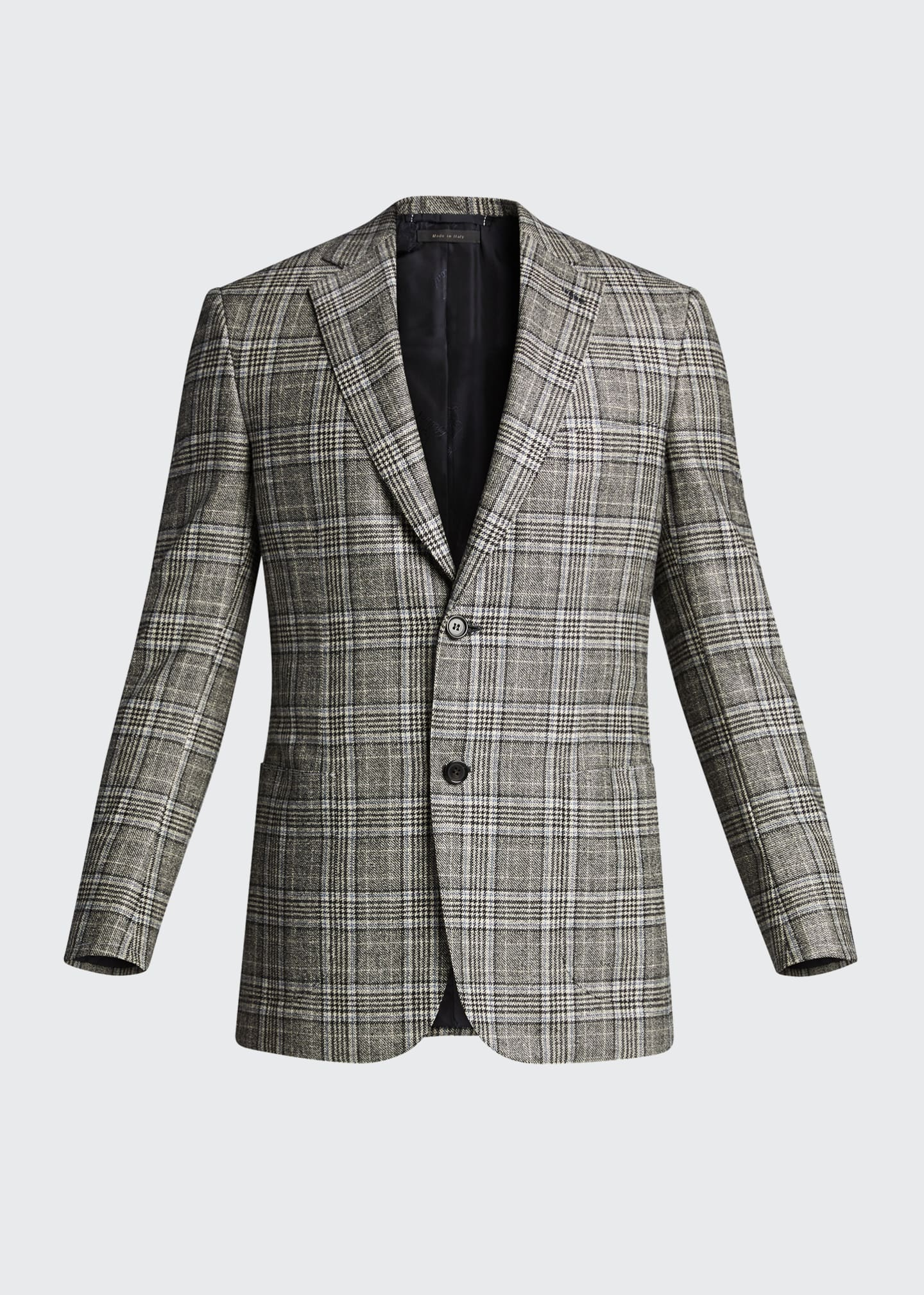 Image 5 of 5: Men's Plaid Sport Jacket