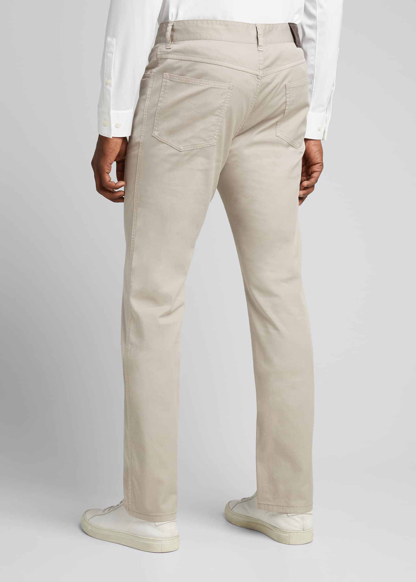 Image 2 of 5: Men's Twill 5-Pocket Pants