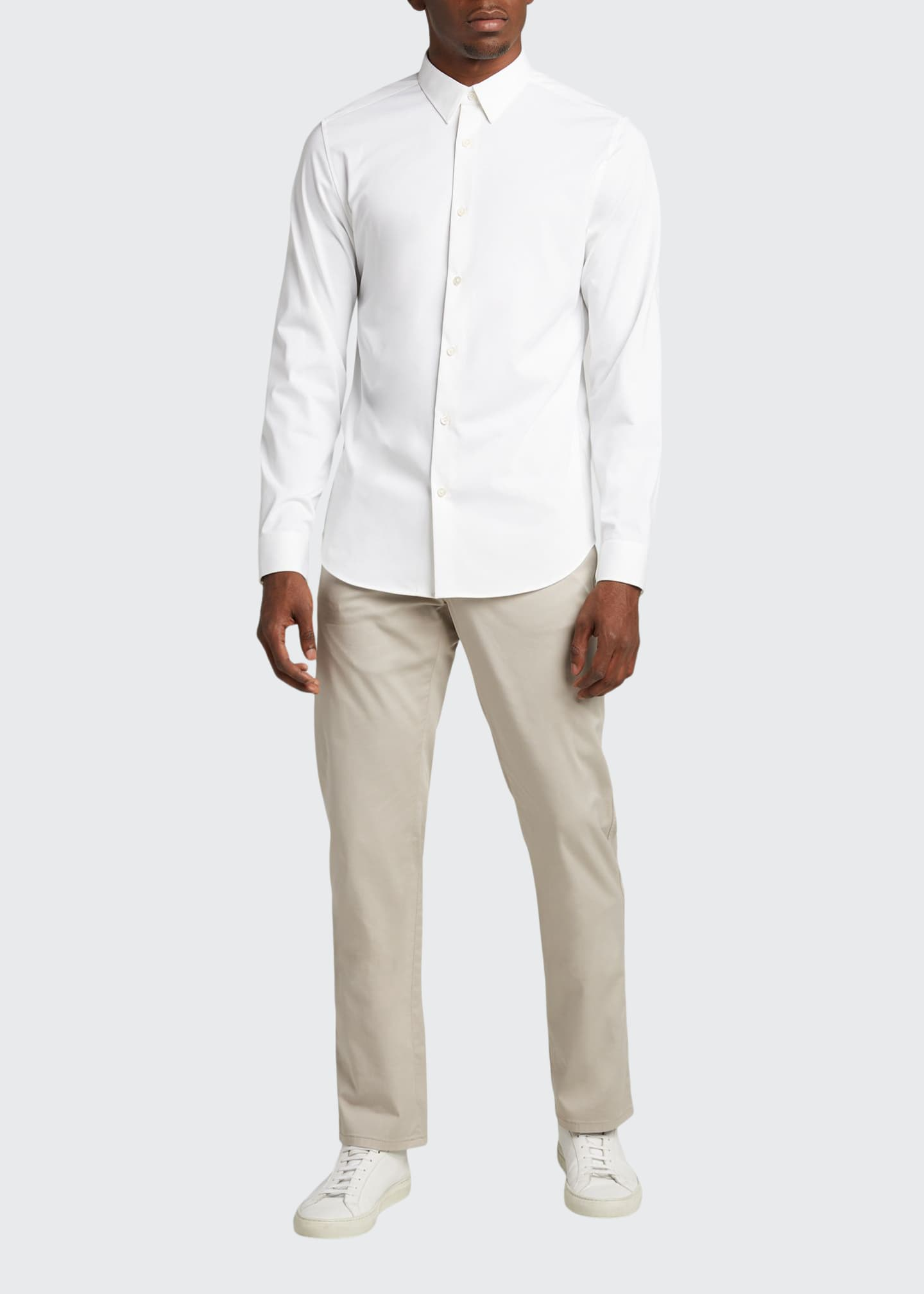 Image 1 of 5: Men's Twill 5-Pocket Pants