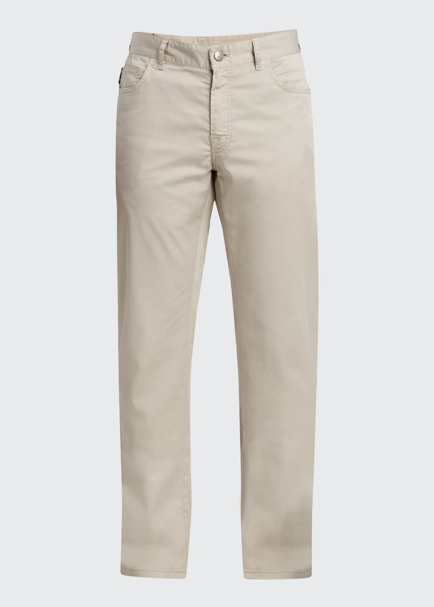 Image 5 of 5: Men's Twill 5-Pocket Pants