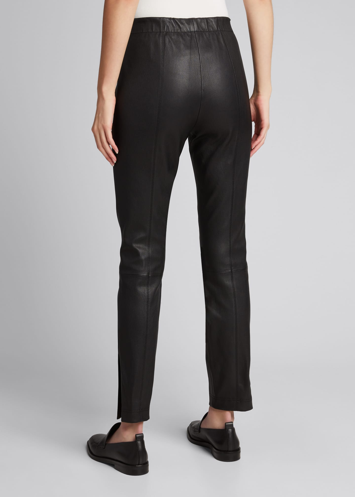 Image 2 of 5: Murray Skinny Leather Pants