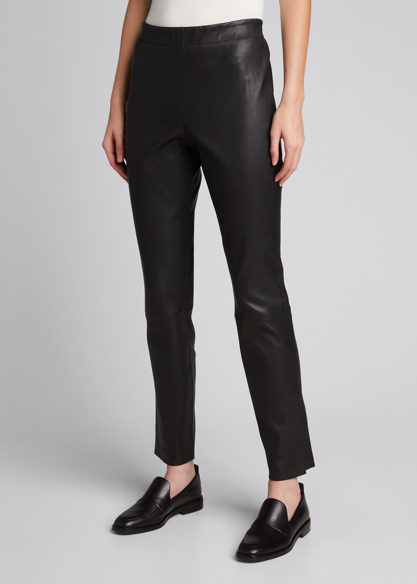 Image 3 of 5: Murray Skinny Leather Pants