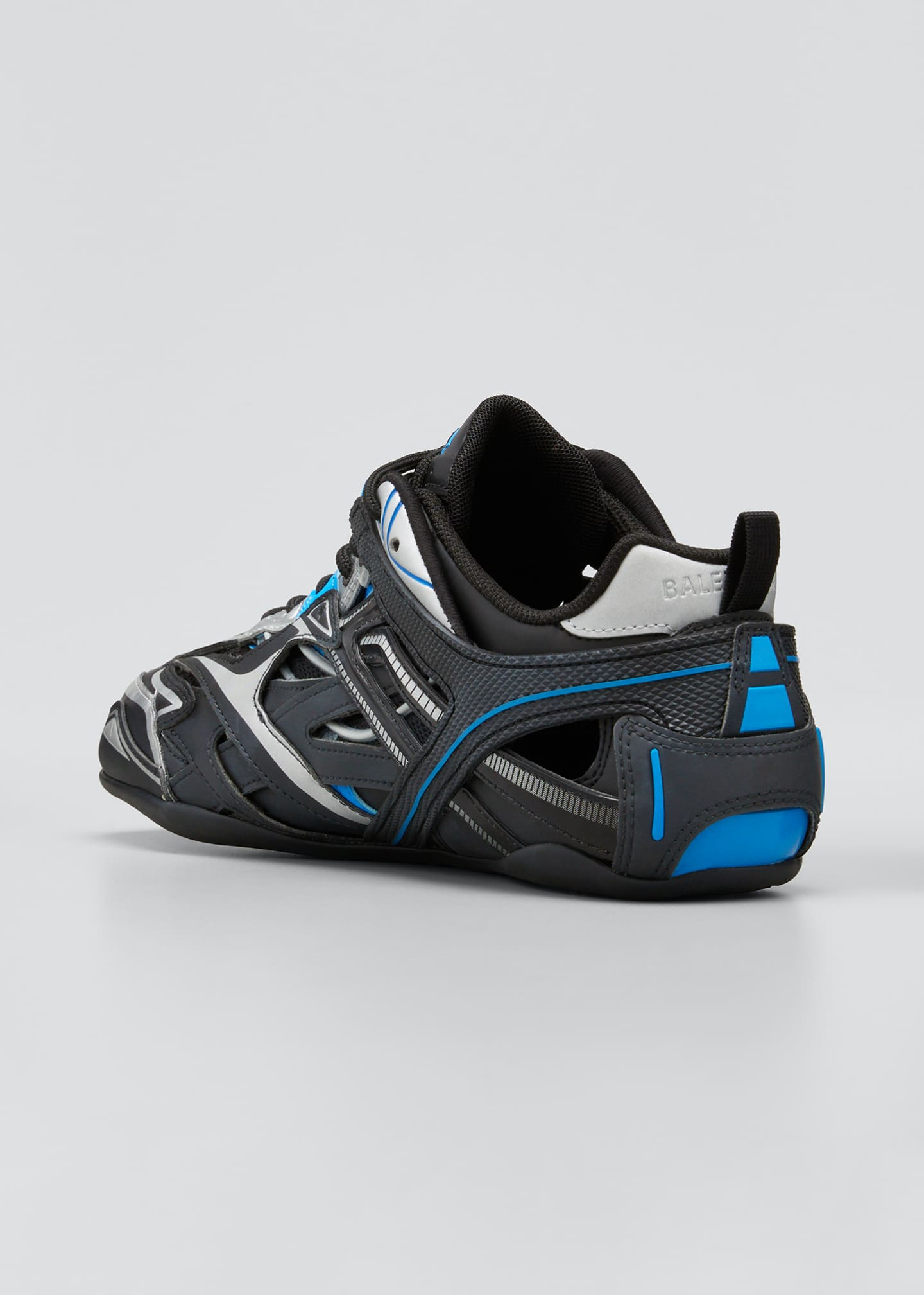 Image 2 of 3: Men's Drive Cutout Mix-Media Sneakers