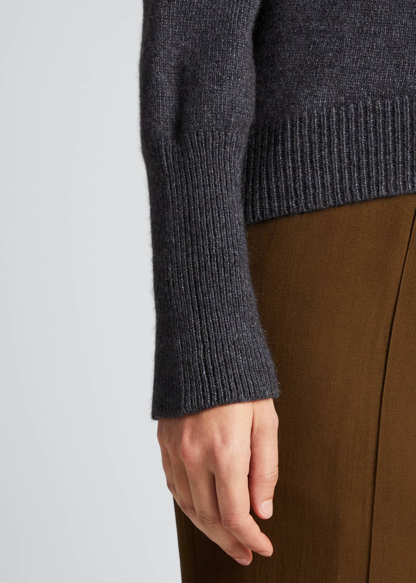 Image 4 of 5: Cashmere Slim-Fit Sweater