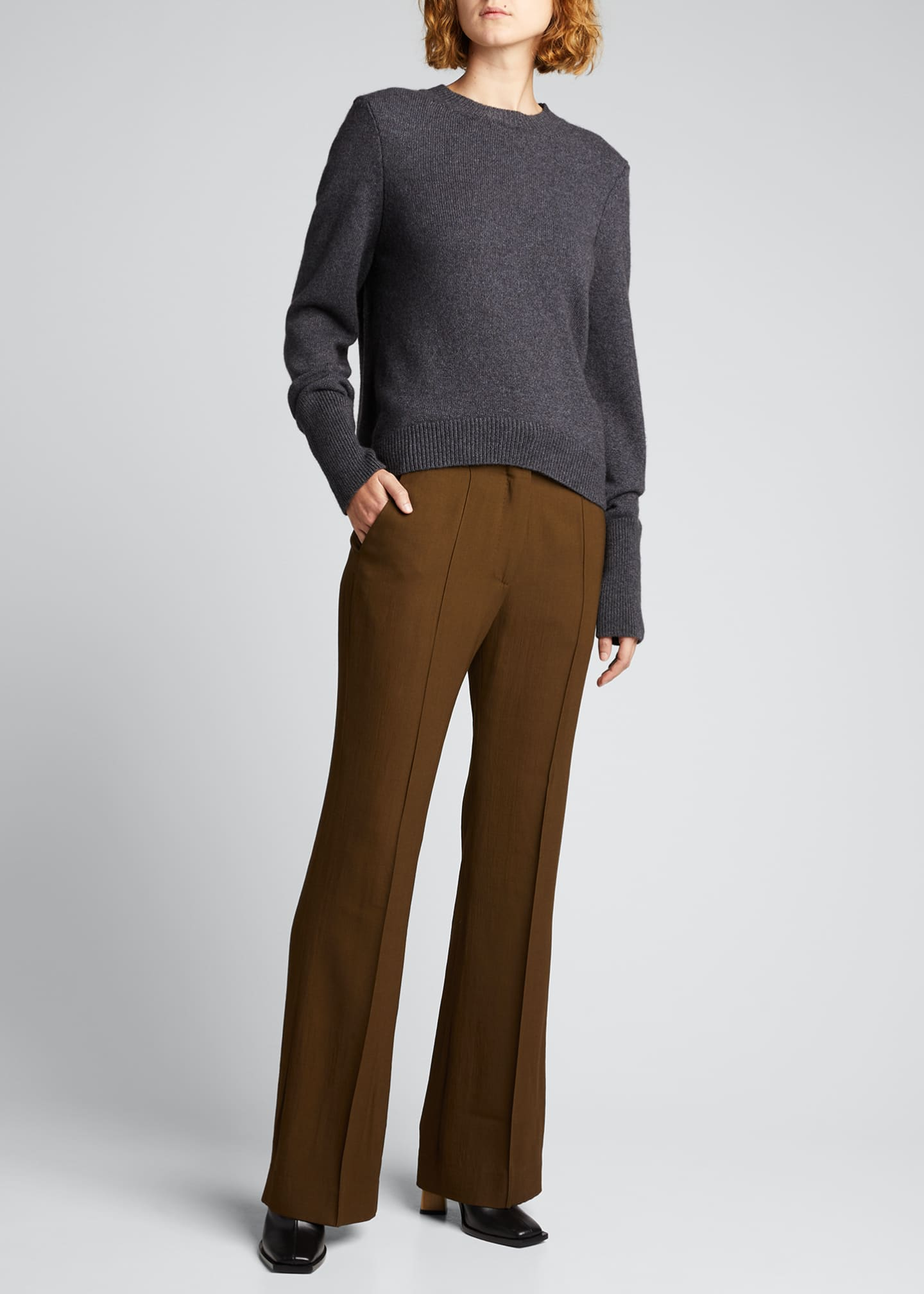 Image 1 of 5: Cashmere Slim-Fit Sweater