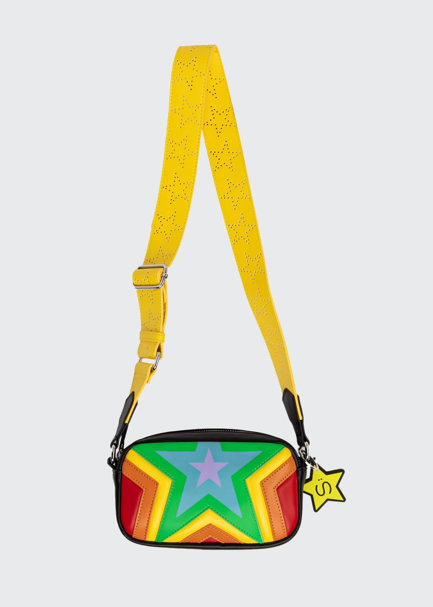 Image 1 of 1: Quilted Stars Crossbody Bag