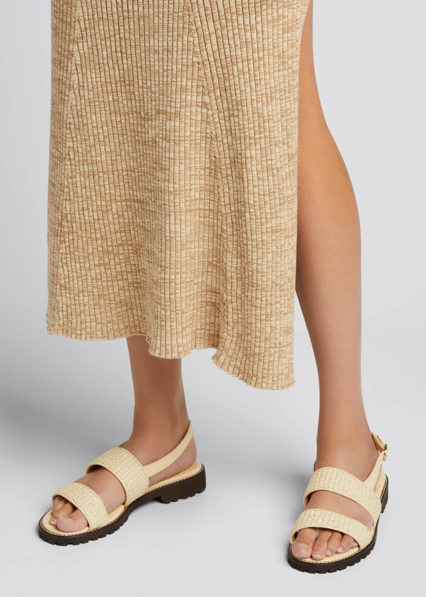 Image 2 of 5: Gad Woven Slingback Sport Sandals