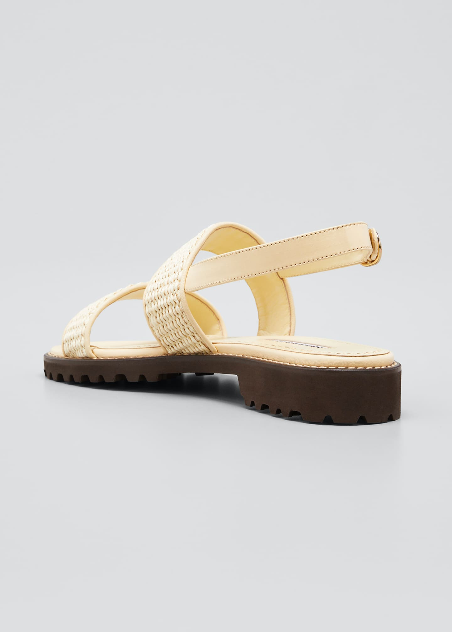 Image 4 of 5: Gad Woven Slingback Sport Sandals