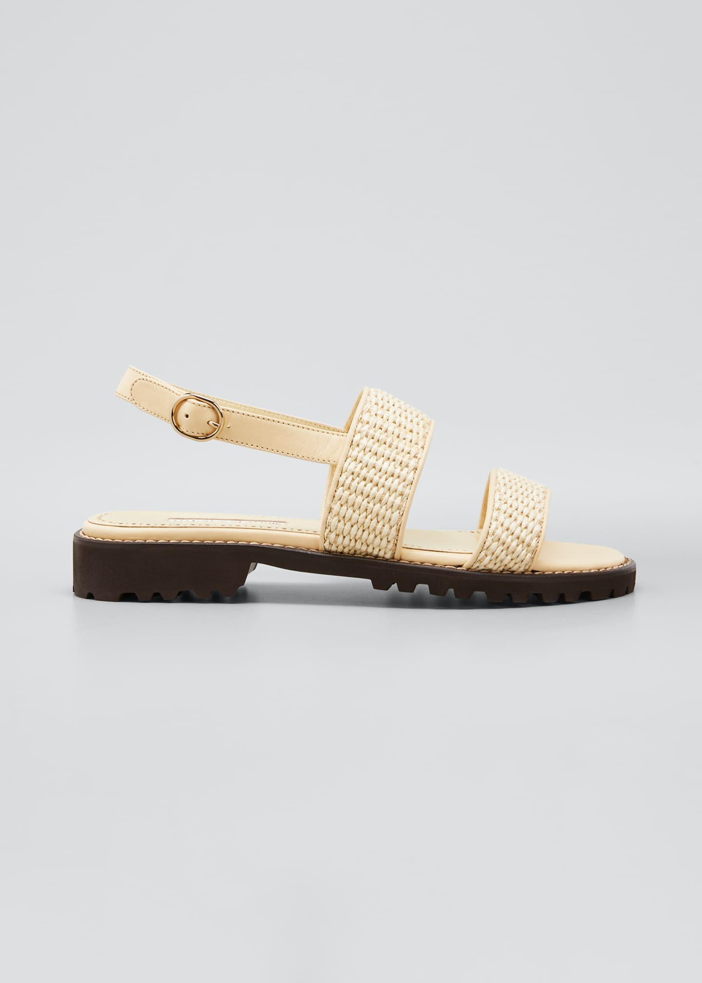 Image 1 of 5: Gad Woven Slingback Sport Sandals