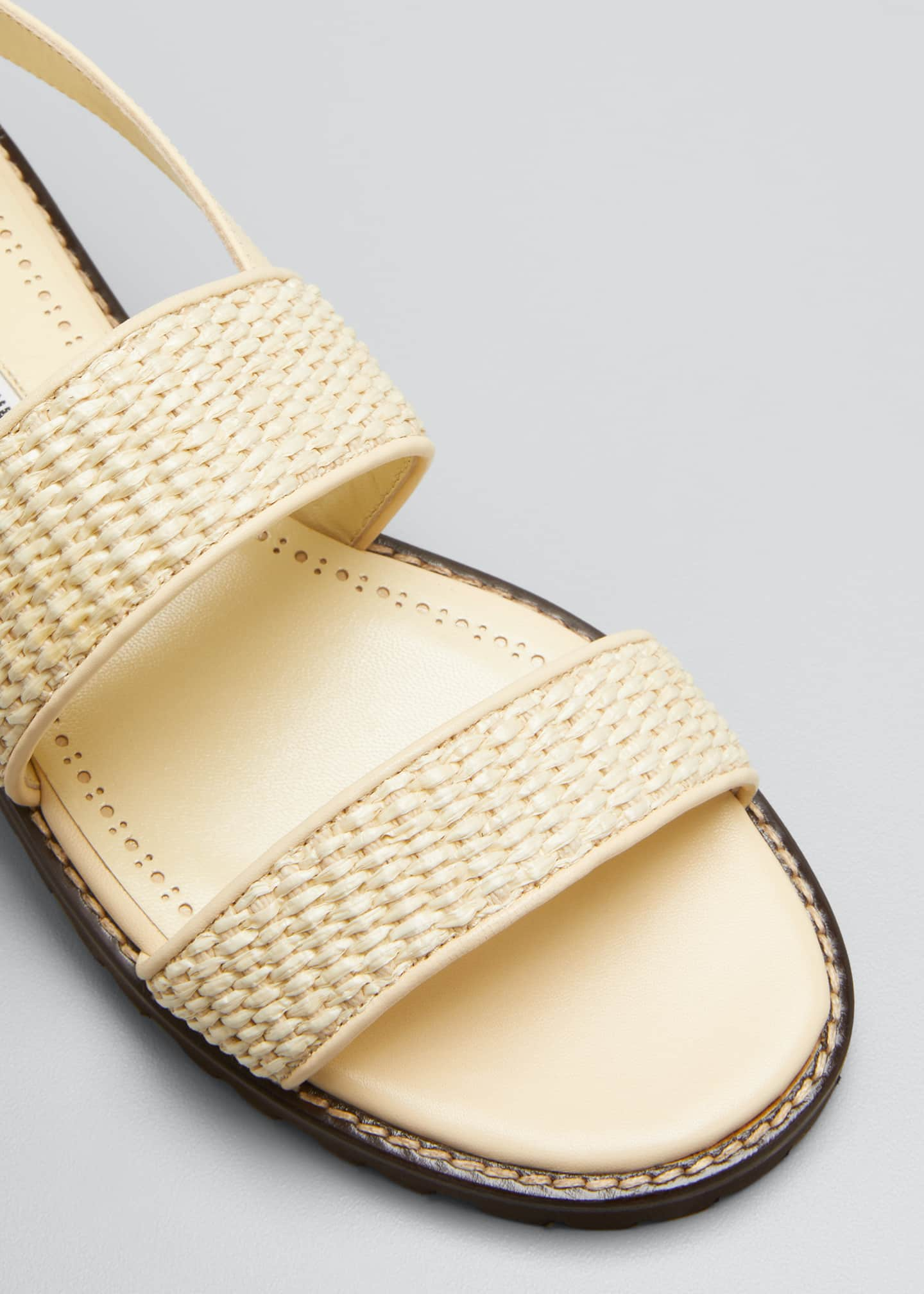 Image 5 of 5: Gad Woven Slingback Sport Sandals