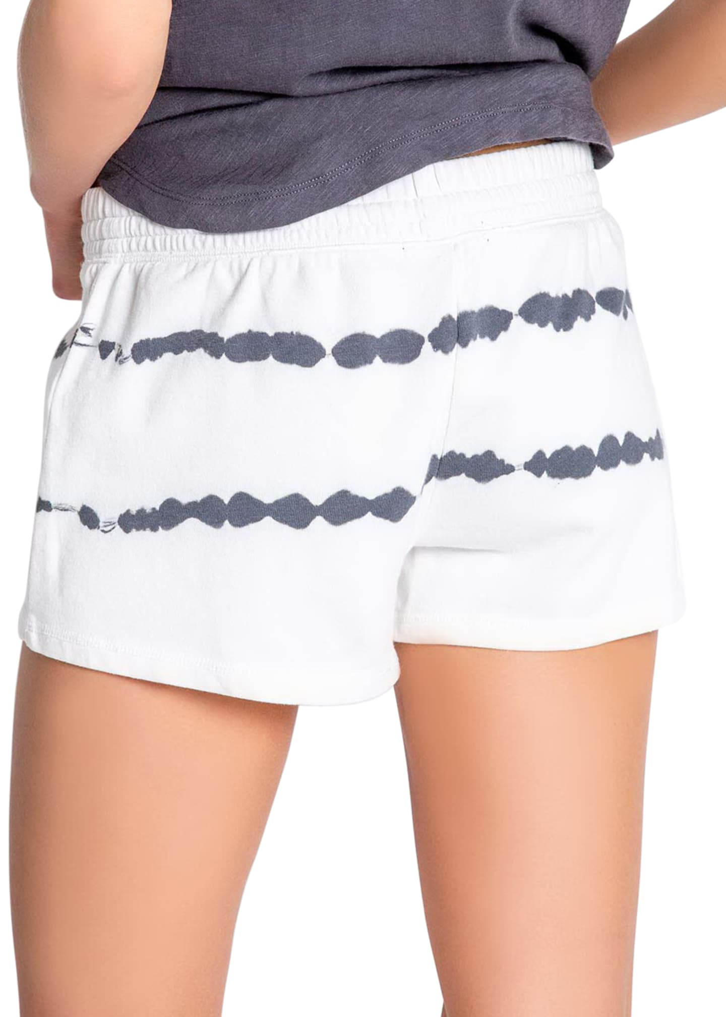 Image 3 of 3: Minimalist French-Terry Lounge Shorts