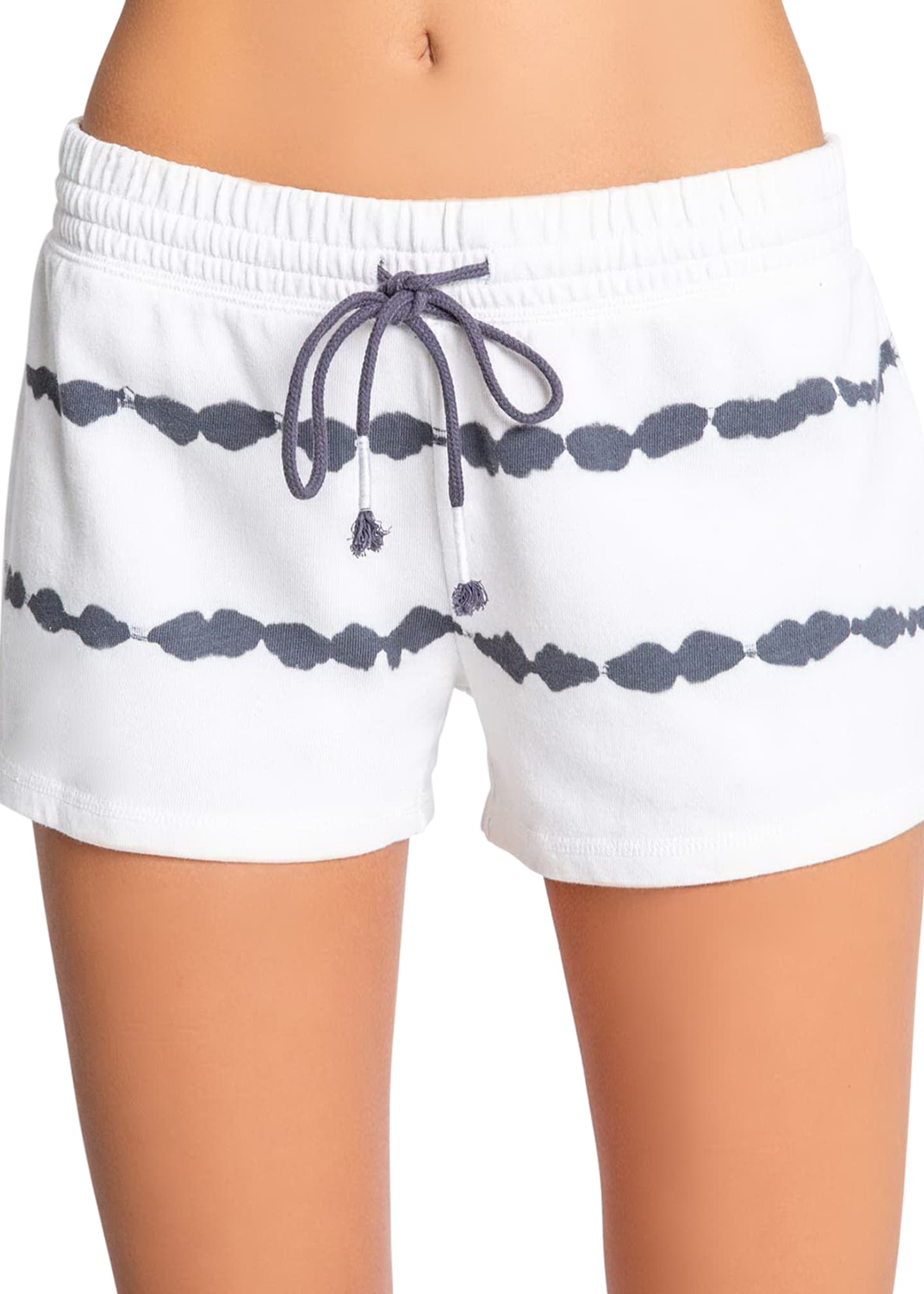 Image 1 of 3: Minimalist French-Terry Lounge Shorts