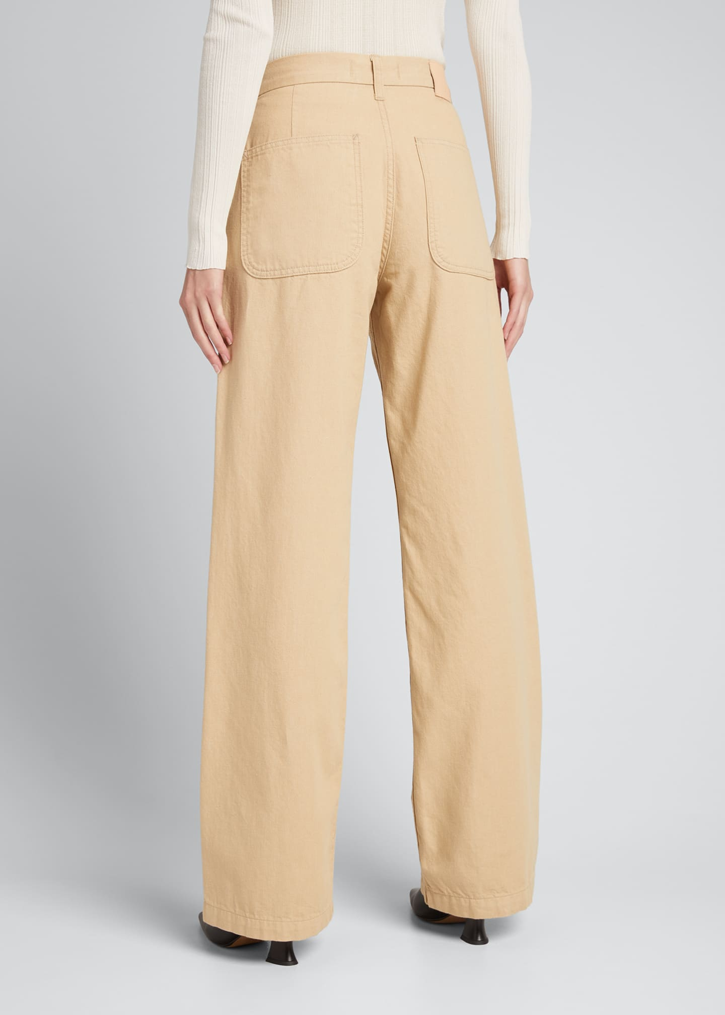 Image 2 of 4: Joan Wide-Leg Trousers