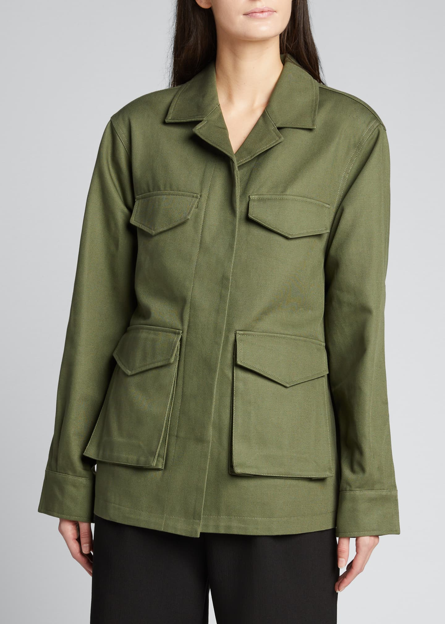 Image 3 of 5: Avignon Utility Jacket