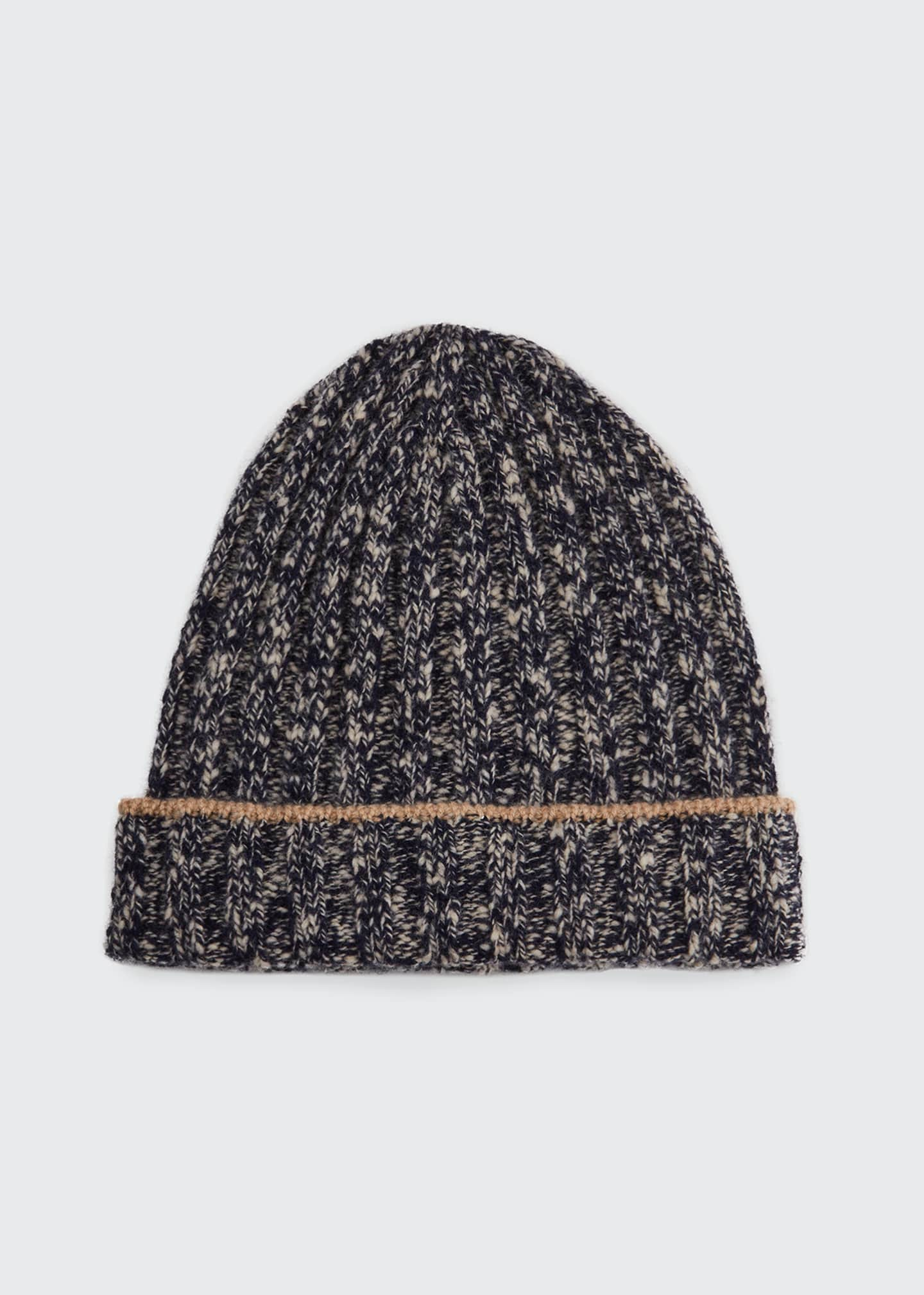 Image 1 of 1: Men's Melange Beanie Hat