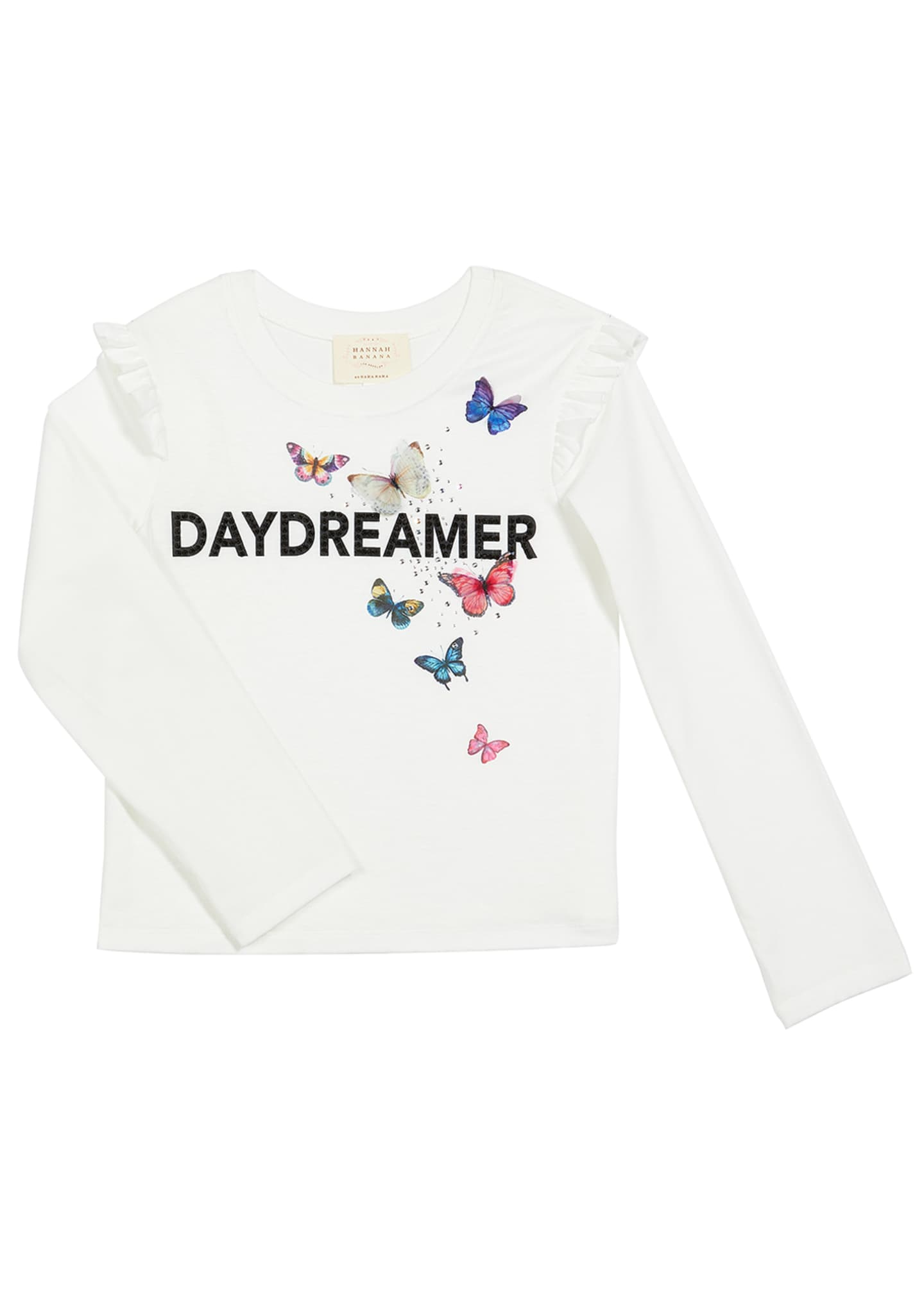 Image 1 of 1: Daydreamer Butterfly Tee, Size 7-14