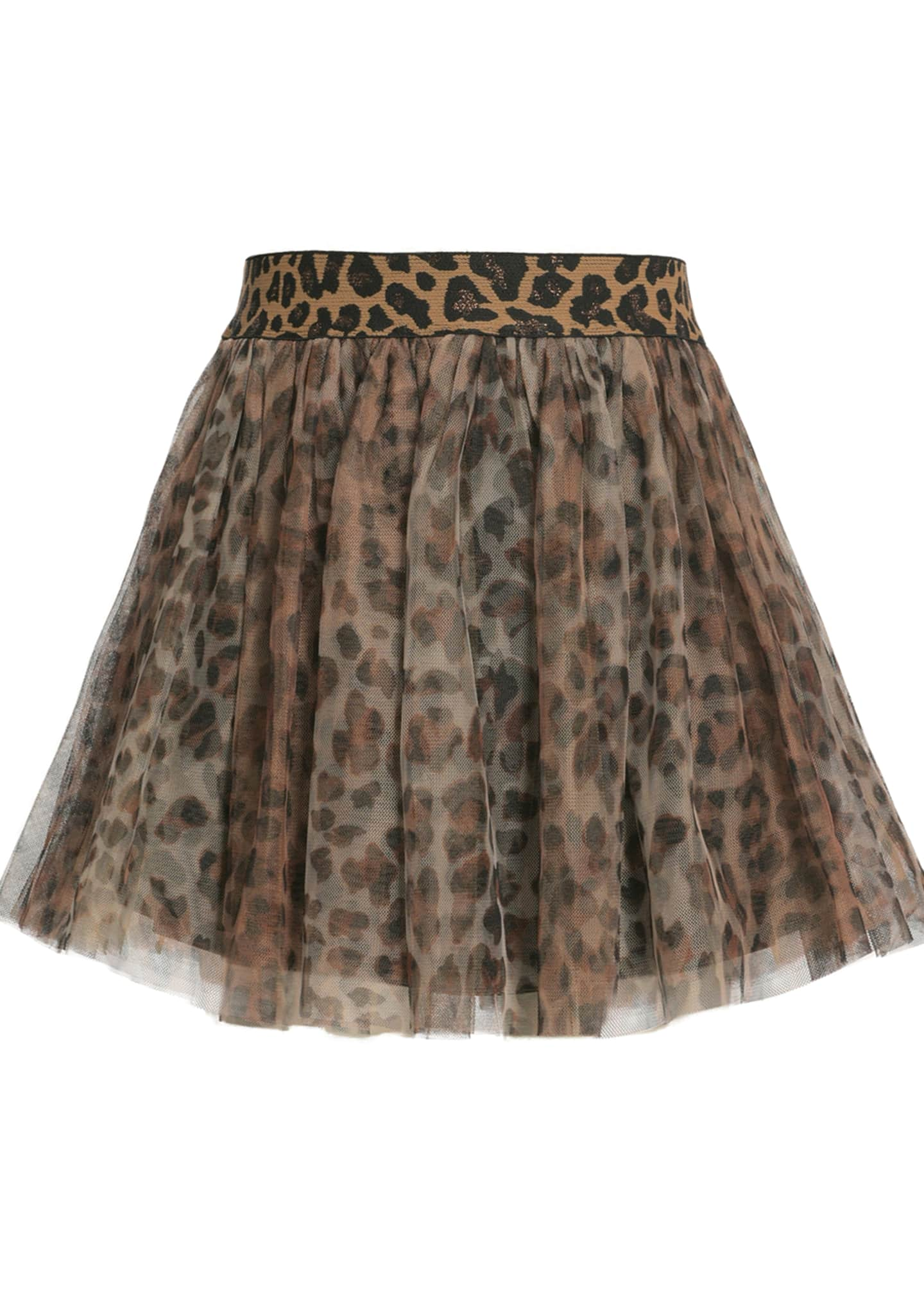 Animal-Print Tutu Skirt, Size 7-14
