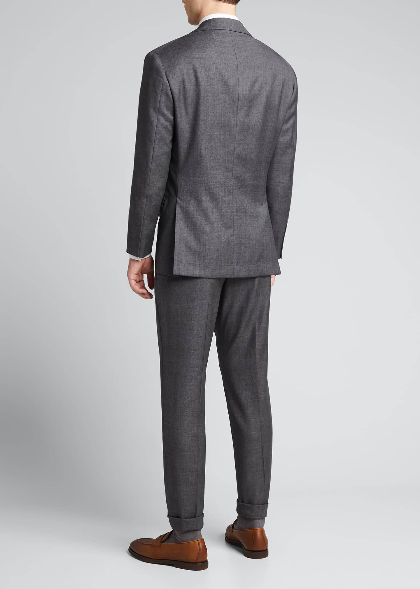 Image 2 of 5: Men's 110s Wool Two-Piece Suit