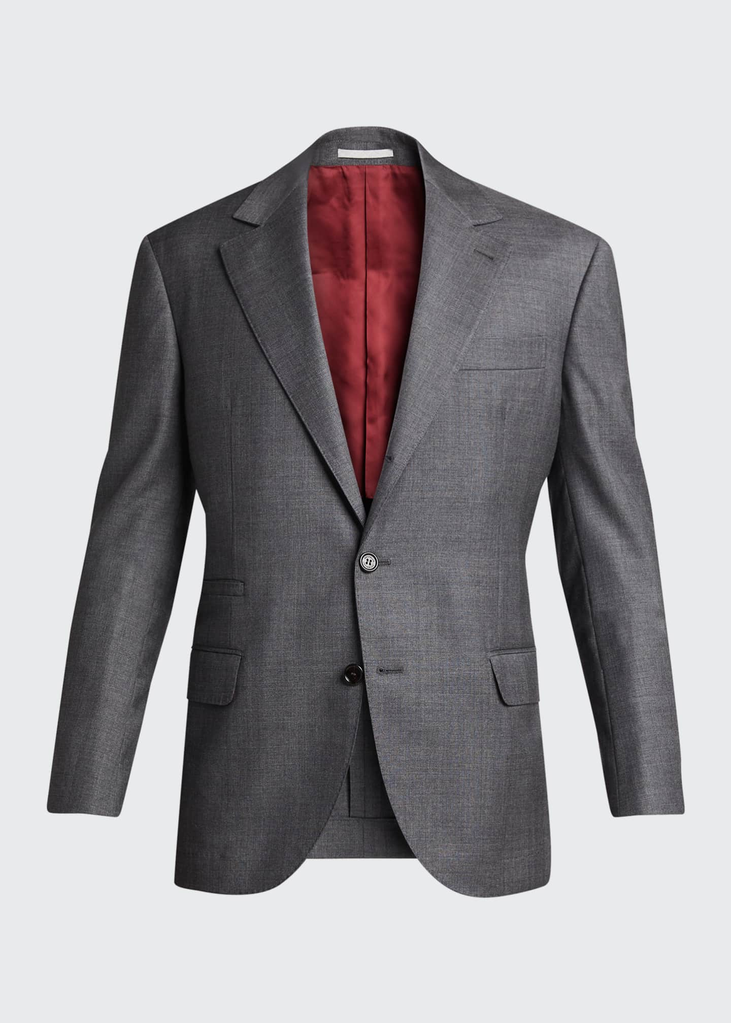 Image 5 of 5: Men's 110s Wool Two-Piece Suit