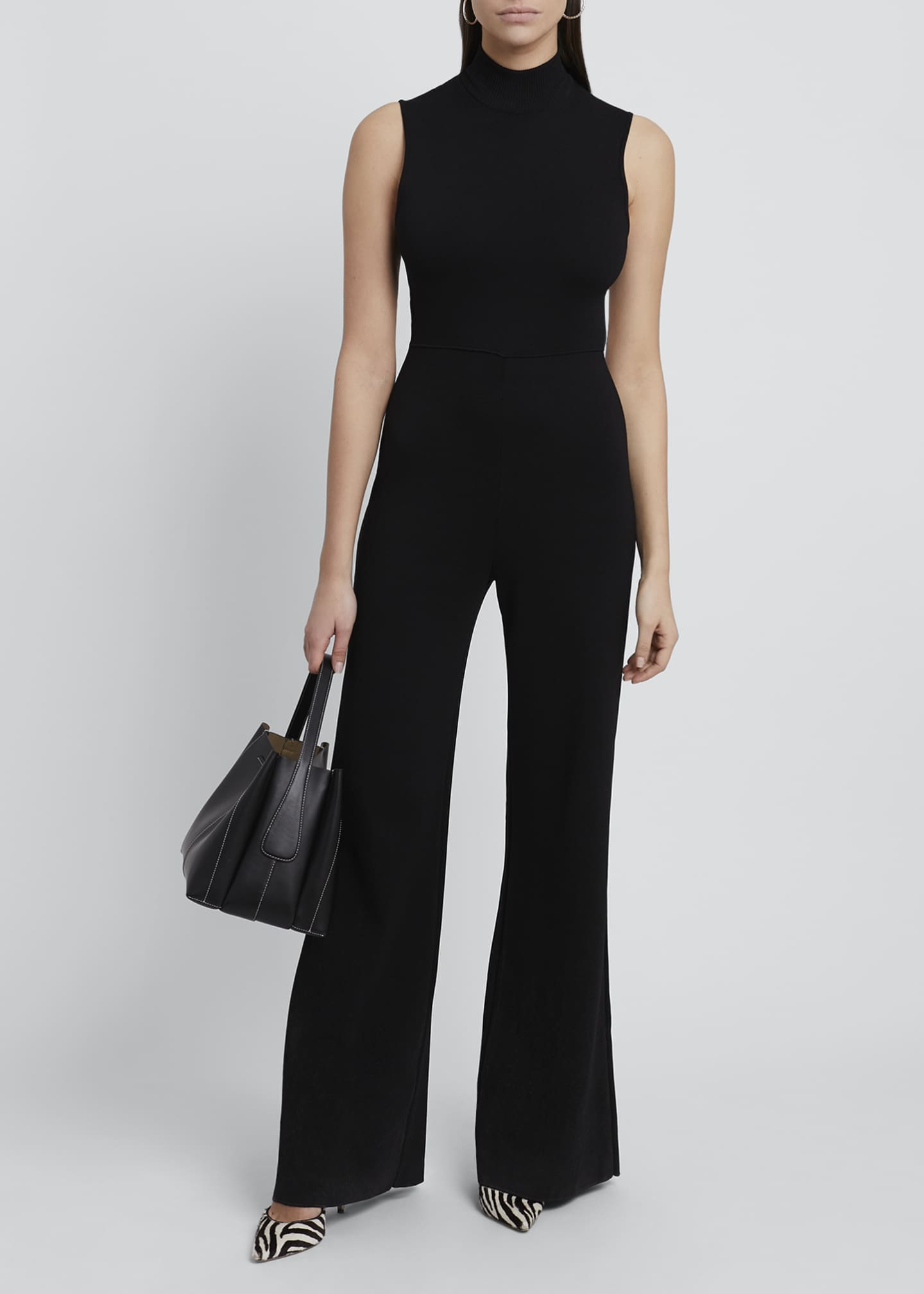Image 1 of 4: Gijon Open-Back Jumpsuit