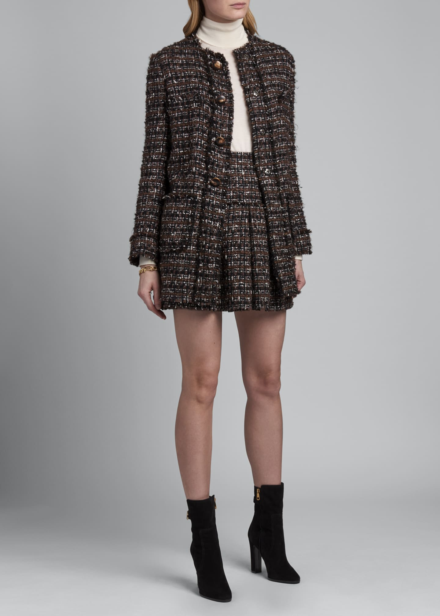 Image 1 of 3: Tweed Topper Jacket