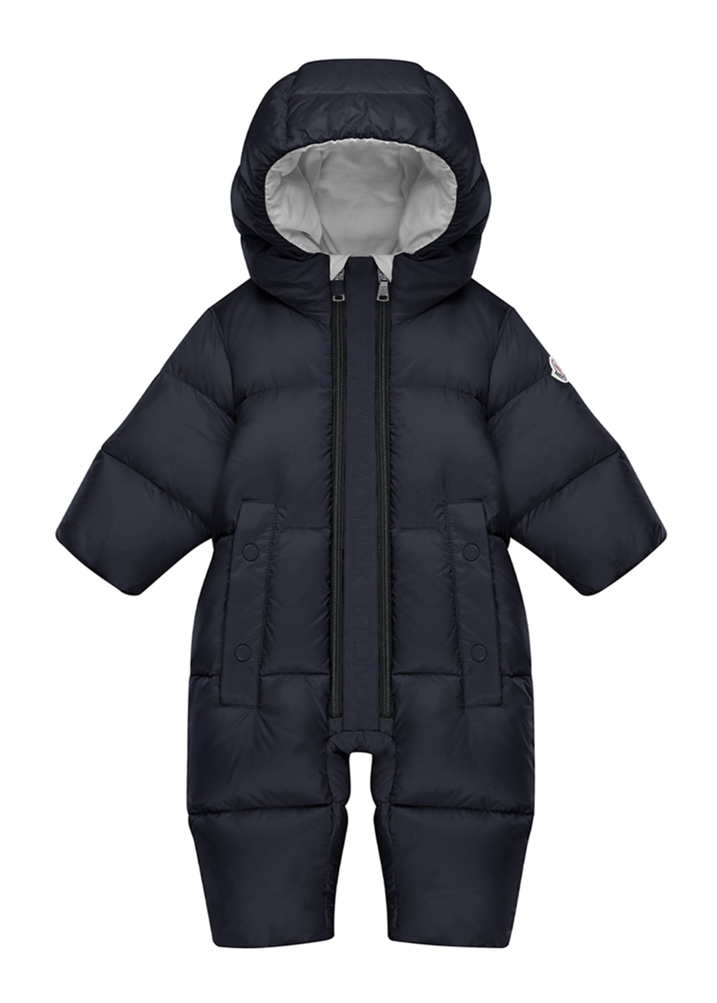 Image 1 of 3: Quilted Puffer Fun Snowsuit, Size 3M-3