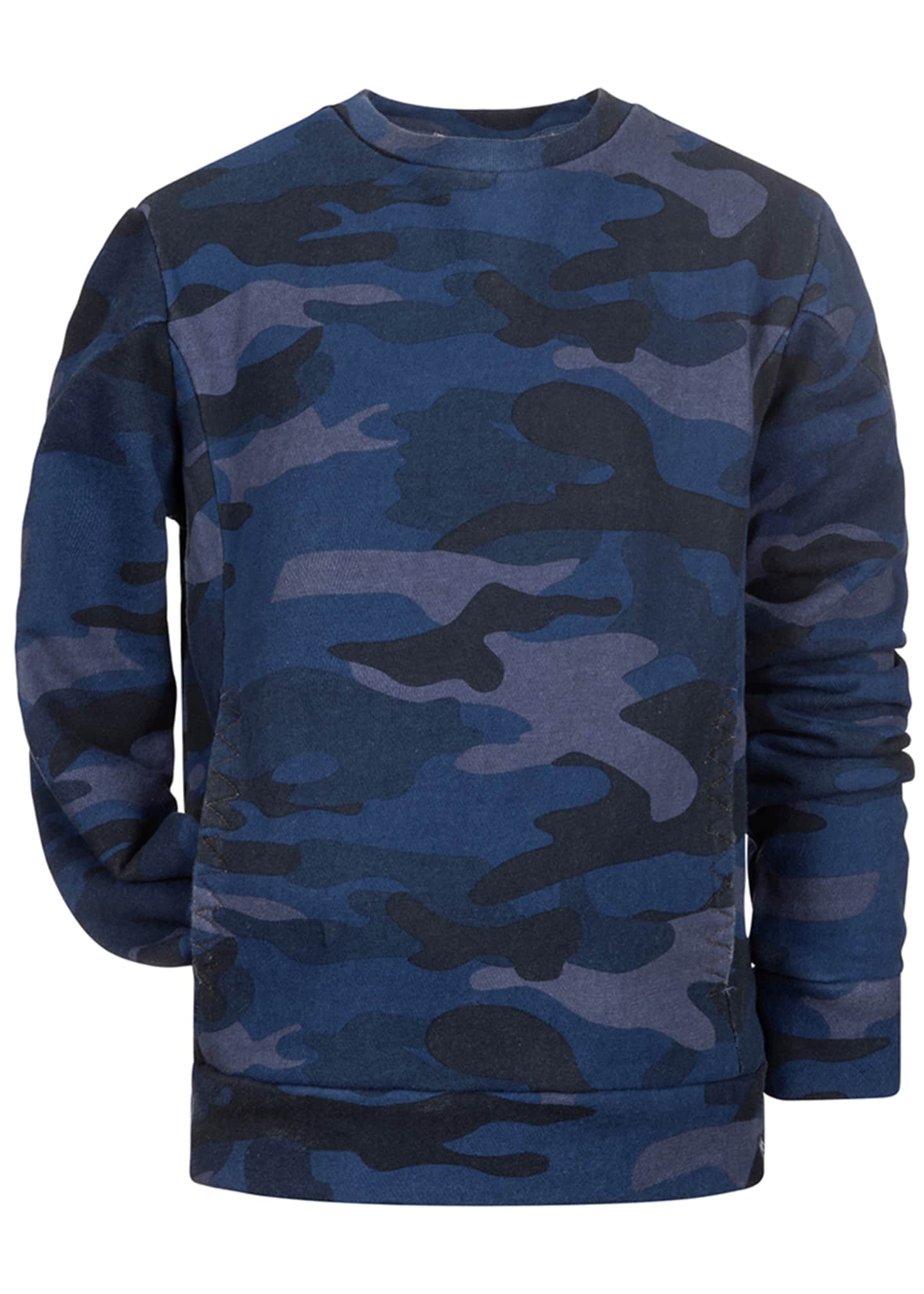 Image 1 of 1: Boy's Feature Long-Sleeve Camo Shirt, Size 2-14