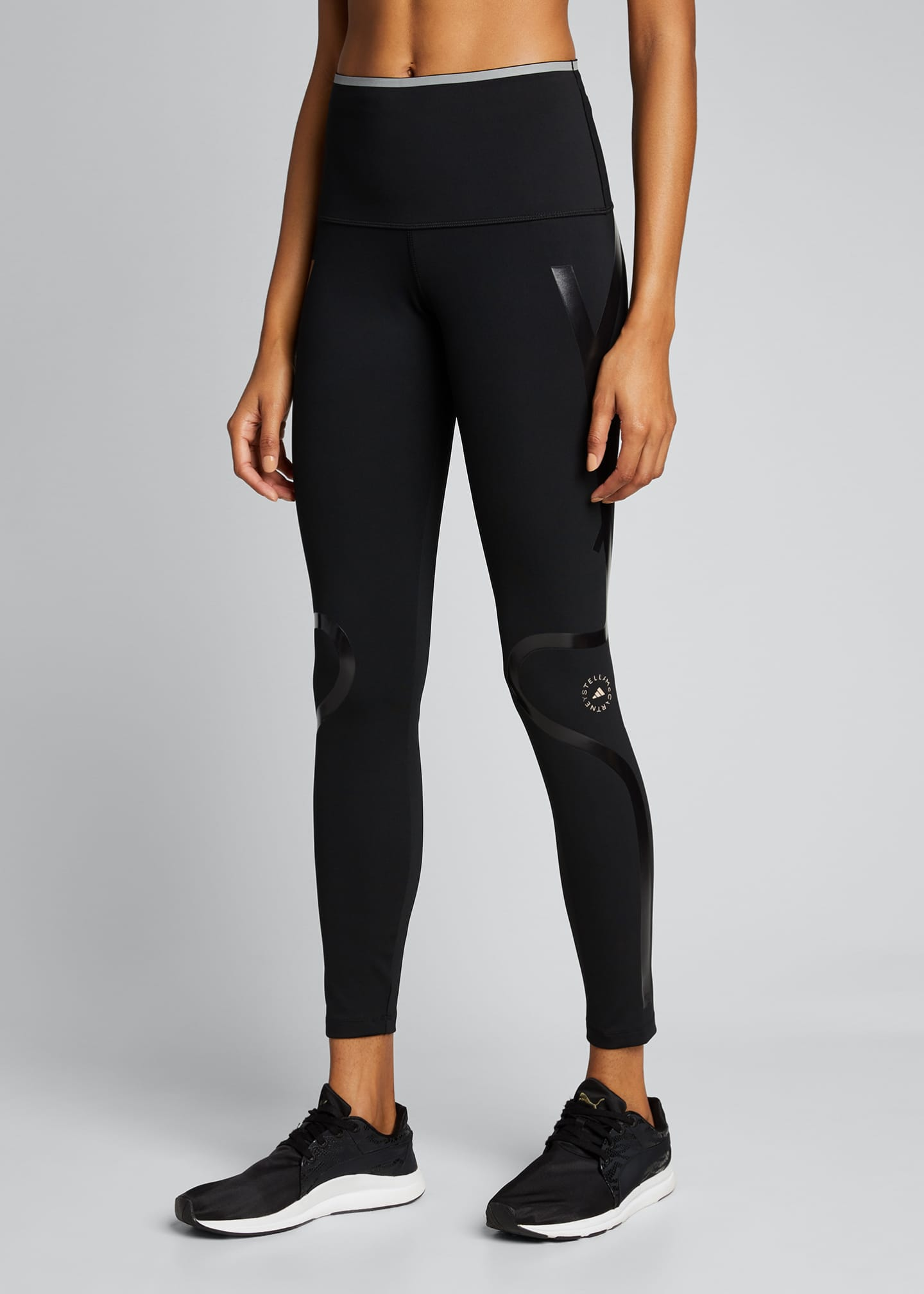 Image 3 of 5: Truepurpose Athletic Tights