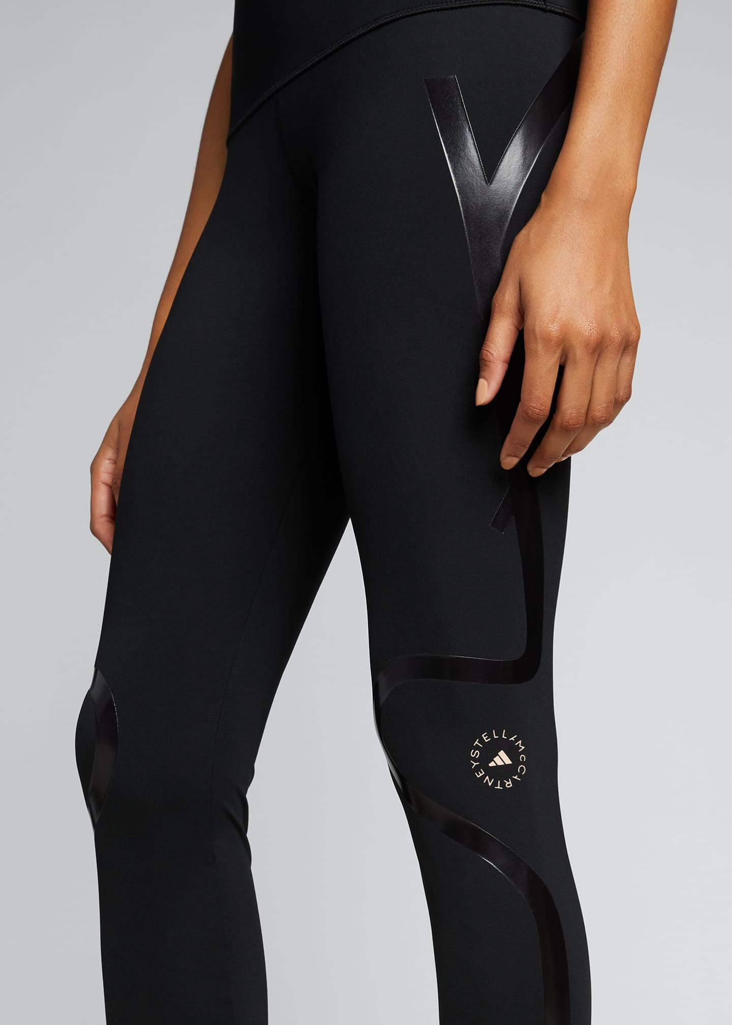 Image 4 of 5: Truepurpose Athletic Tights