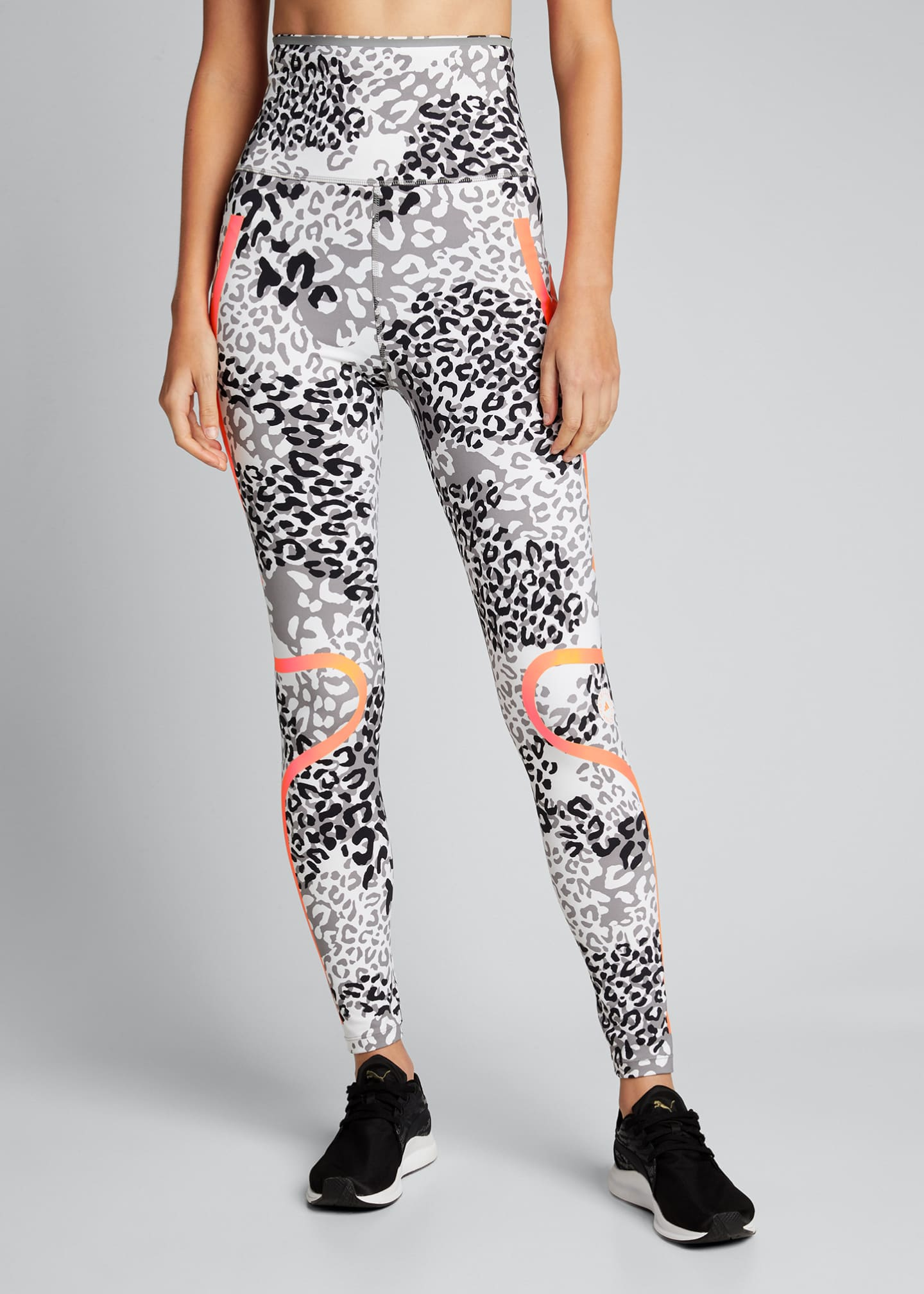 Image 3 of 5: Truepace Animal-Print High-Waist Active Tights
